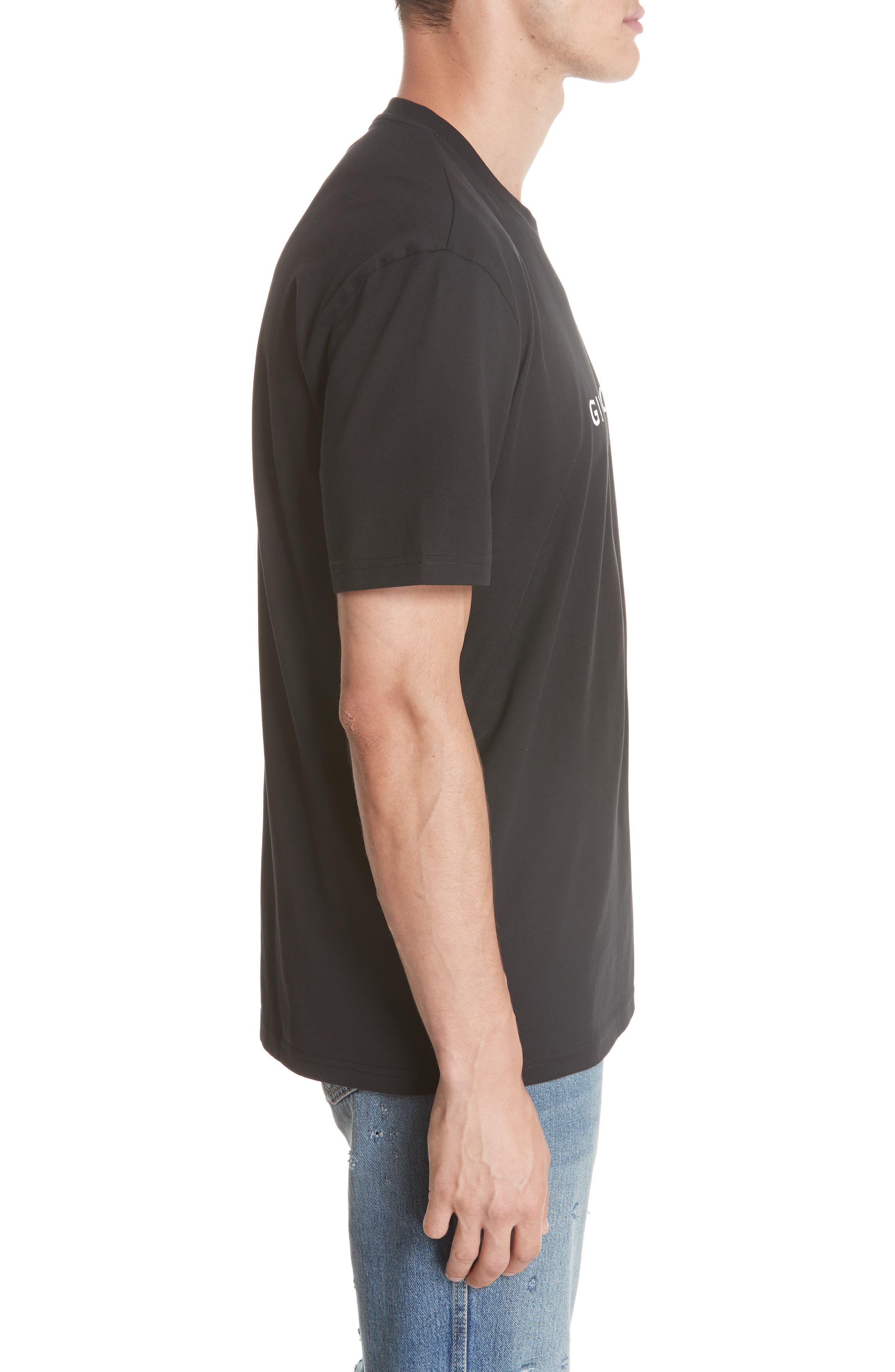 Vintage Logo T-Shirt,                             Alternate thumbnail 3, color,                             Black