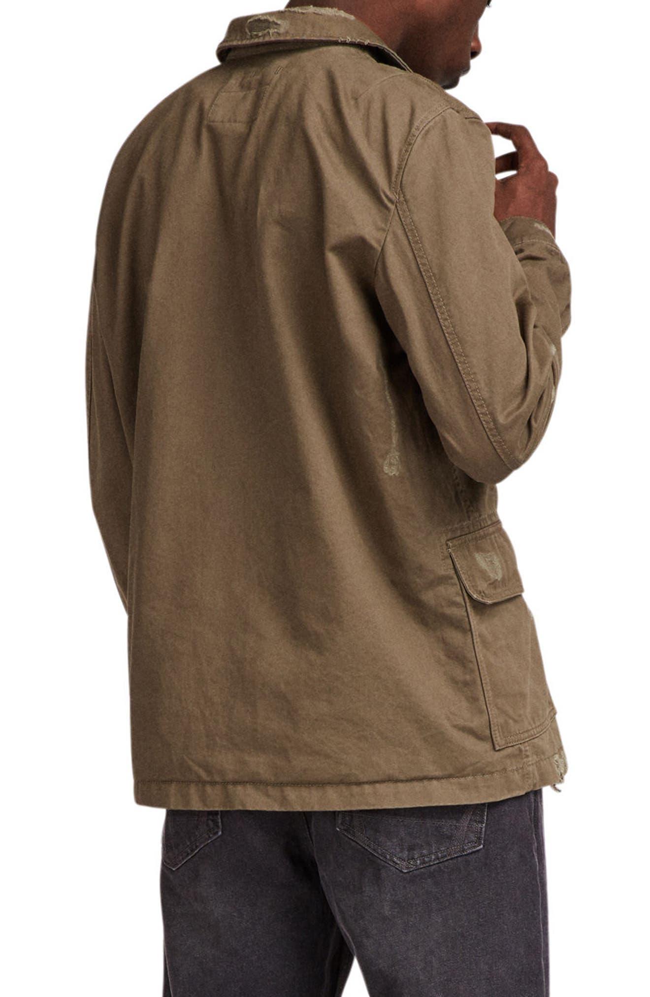 Sasaki Shirt Jacket,                             Alternate thumbnail 2, color,                             Khaki Green