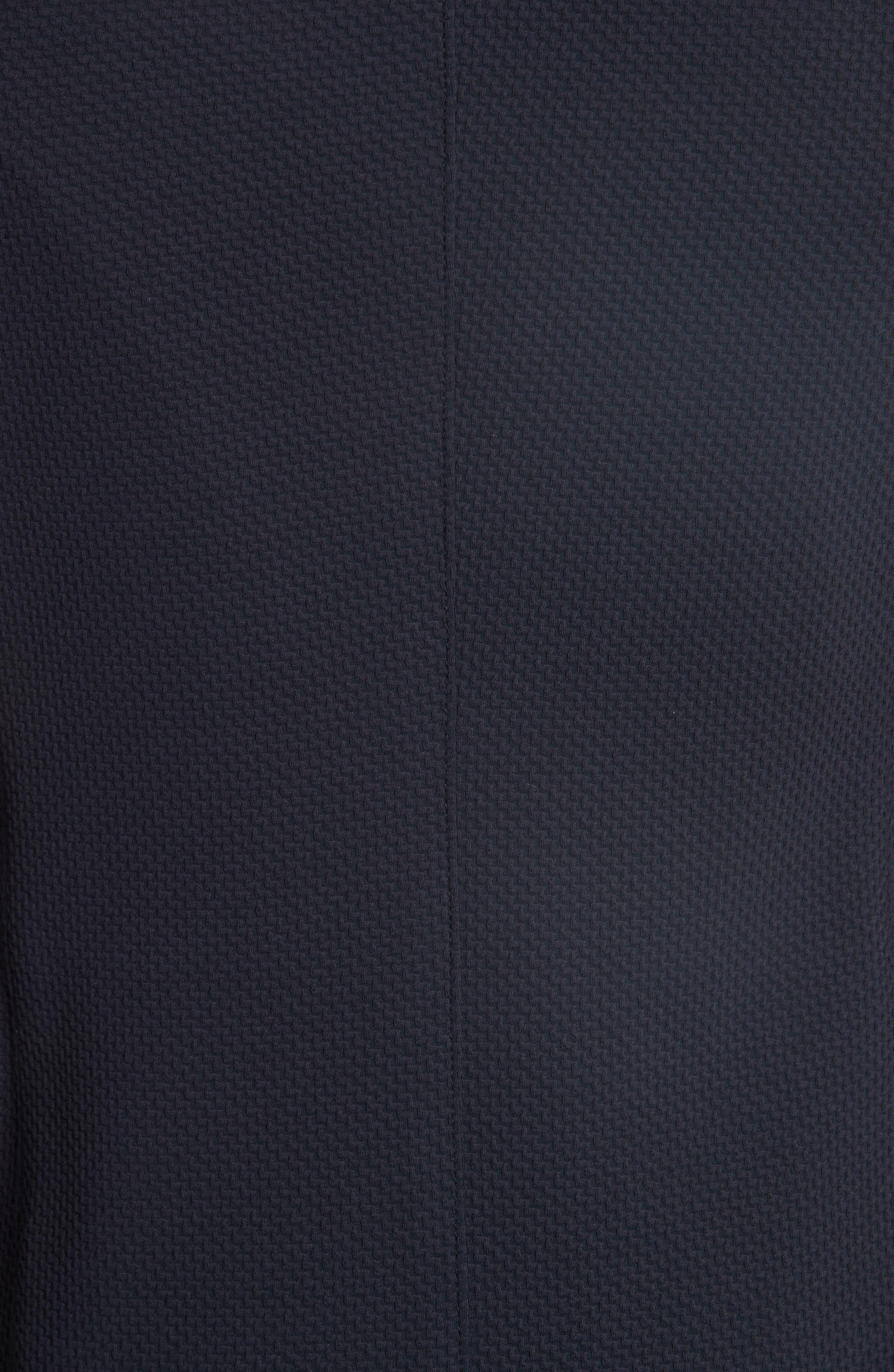 Trim Fit Blazer,                             Alternate thumbnail 3, color,                             Blue