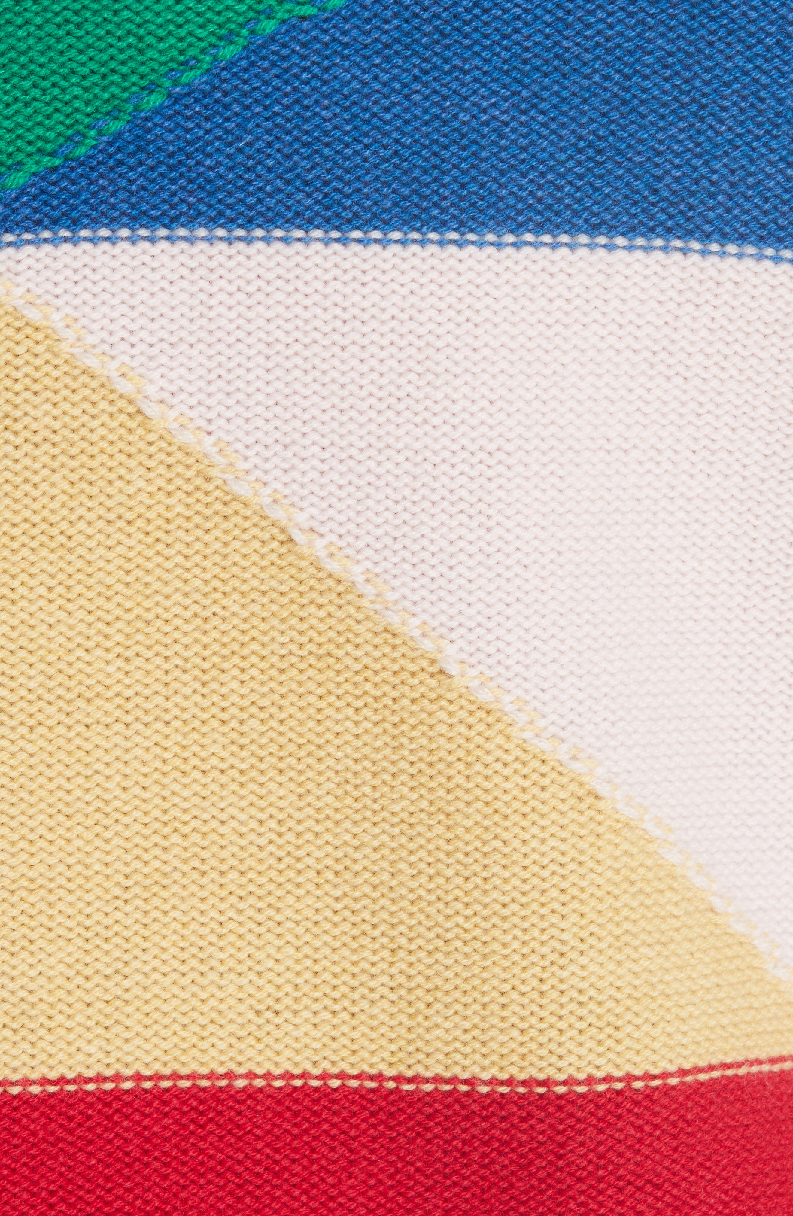Megu Colorblock Wool & Cashmere Sweater,                             Alternate thumbnail 3, color,                             Multi