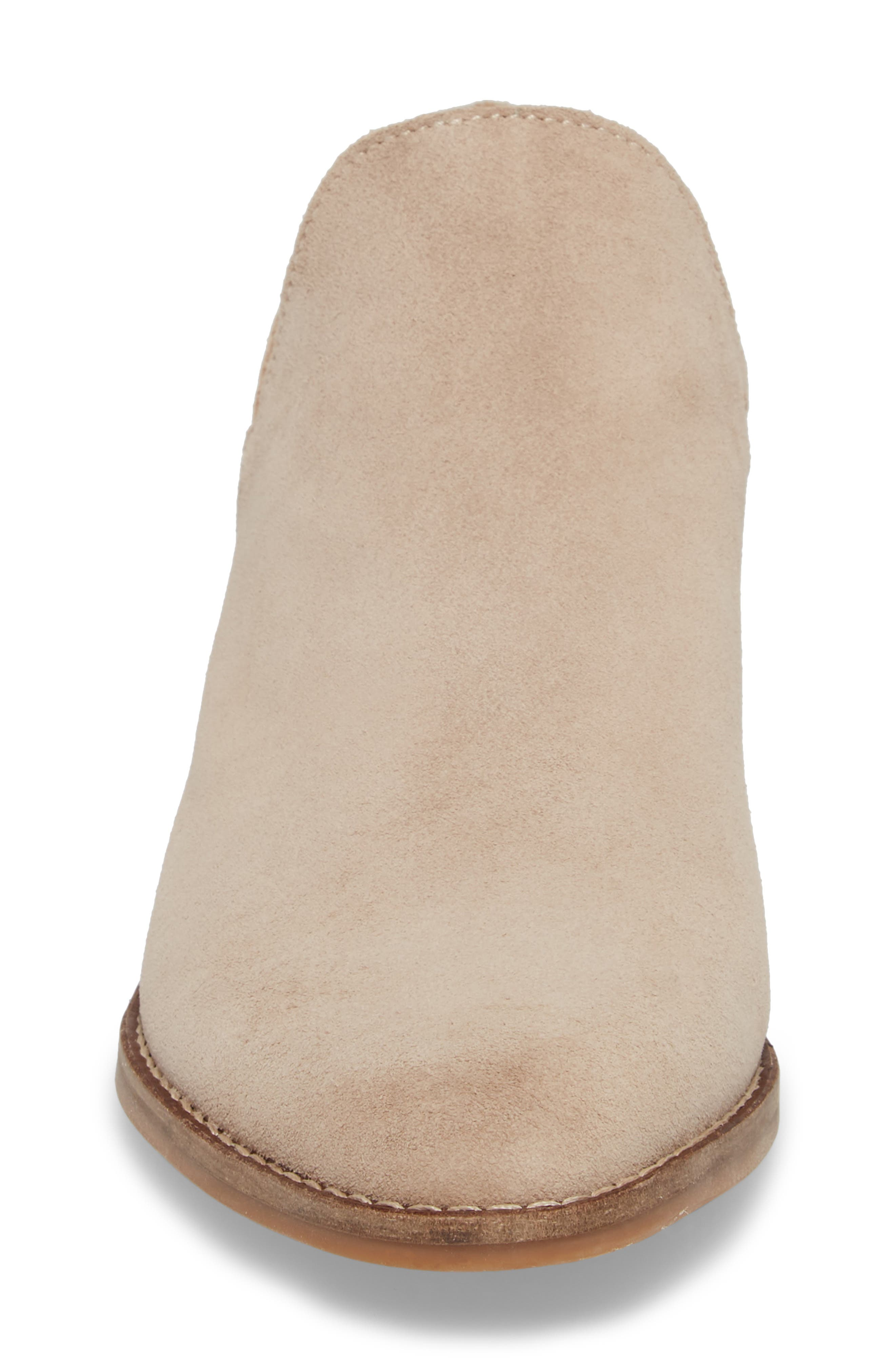 Fausst Bootie,                             Alternate thumbnail 4, color,                             Mushroom Suede