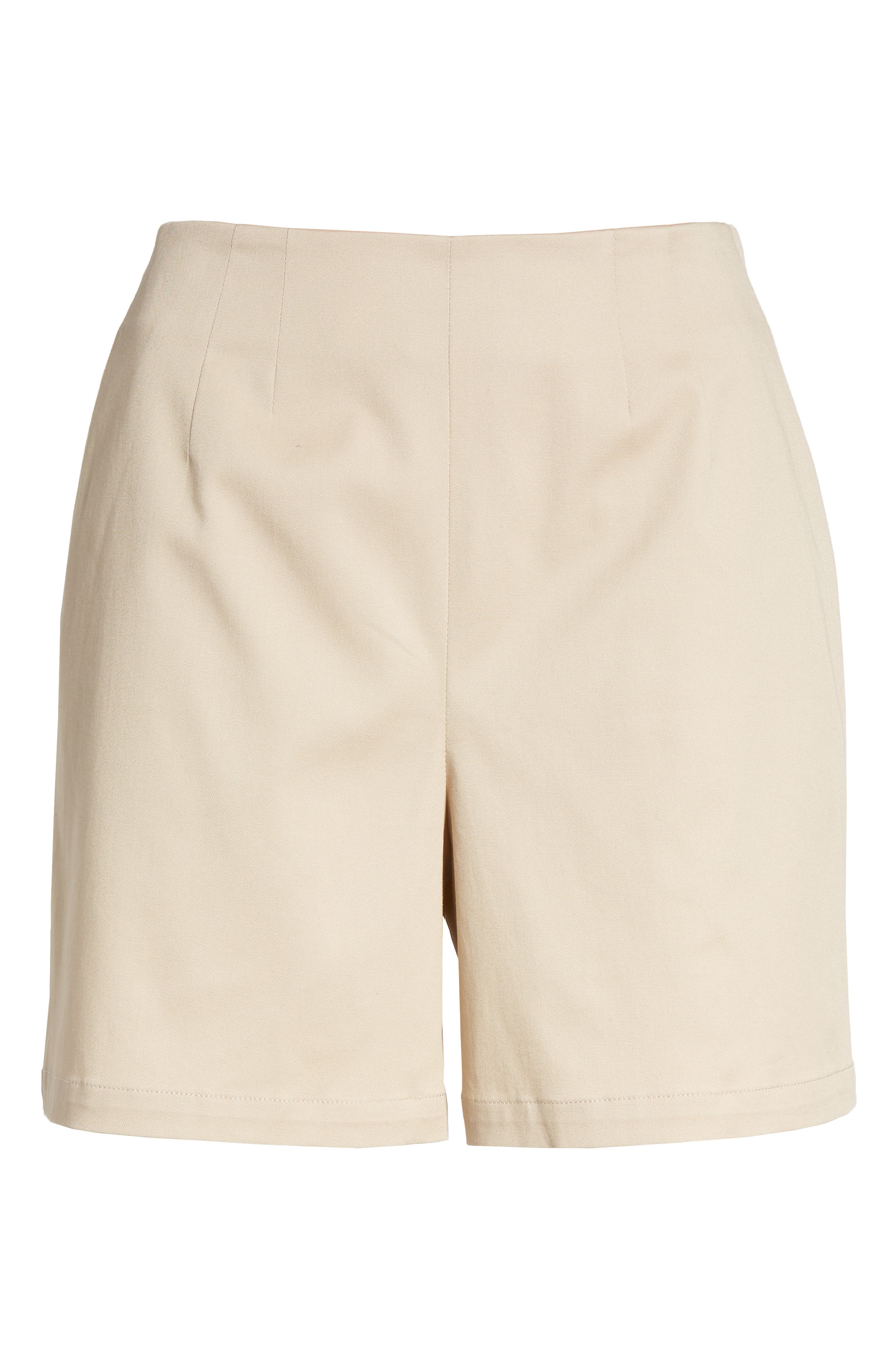 Clean Twill Shorts,                             Alternate thumbnail 6, color,                             Tan