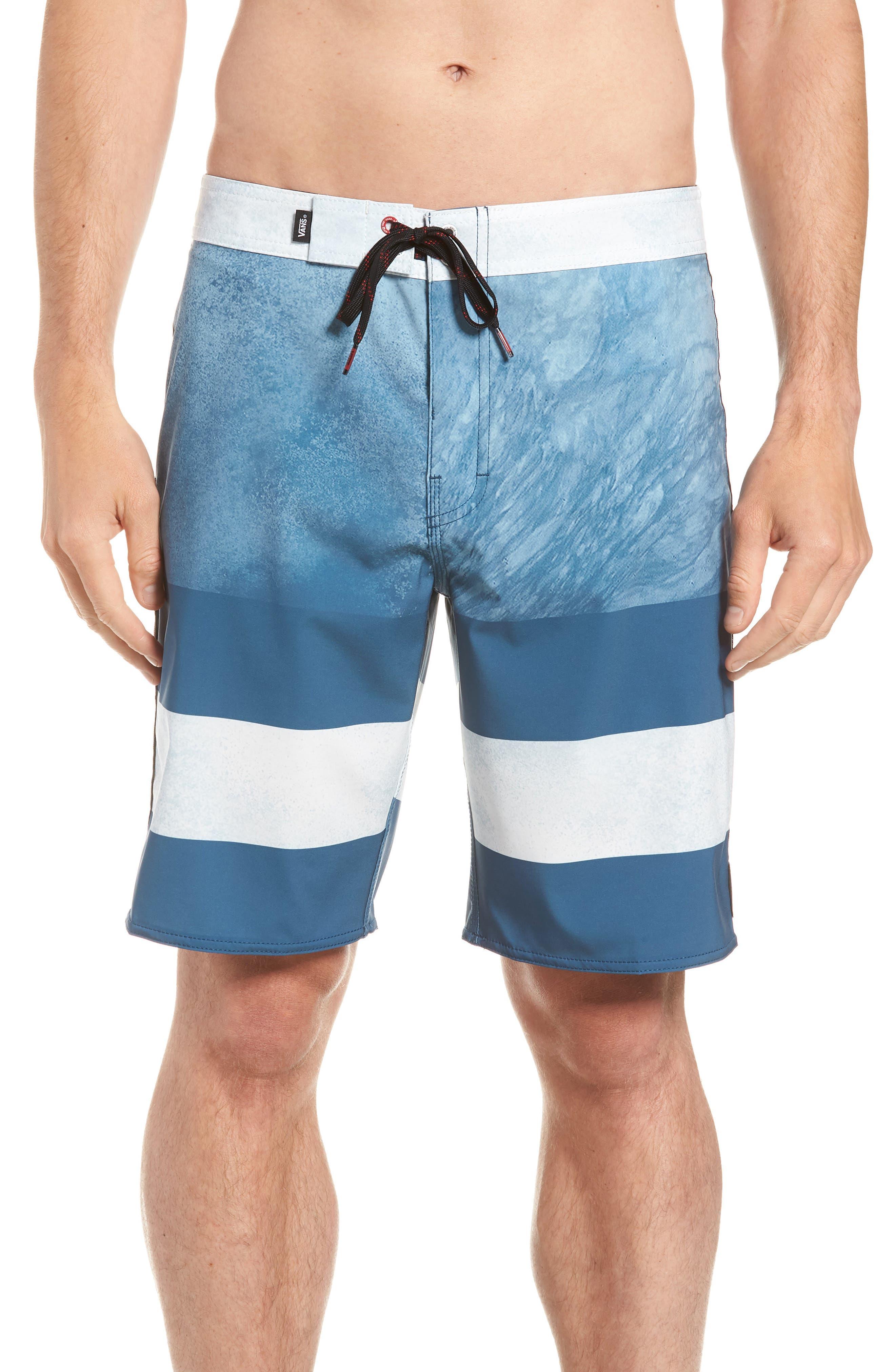 Era Board Shorts,                         Main,                         color, Real Teal/ Nathan Florence