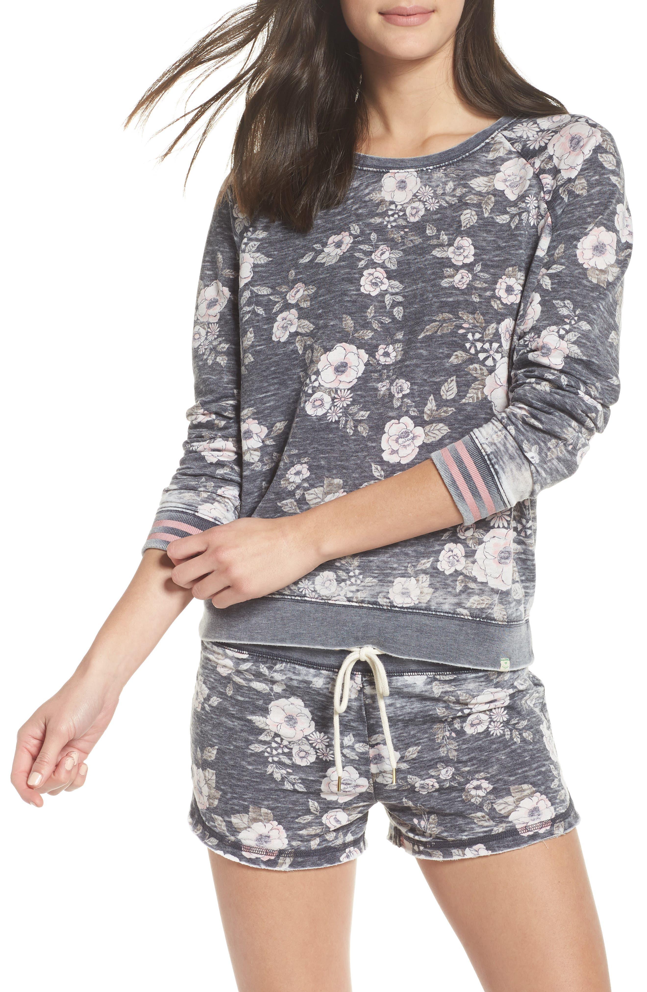 Burnout Lounge Sweatshirt by Honeydew Intimates