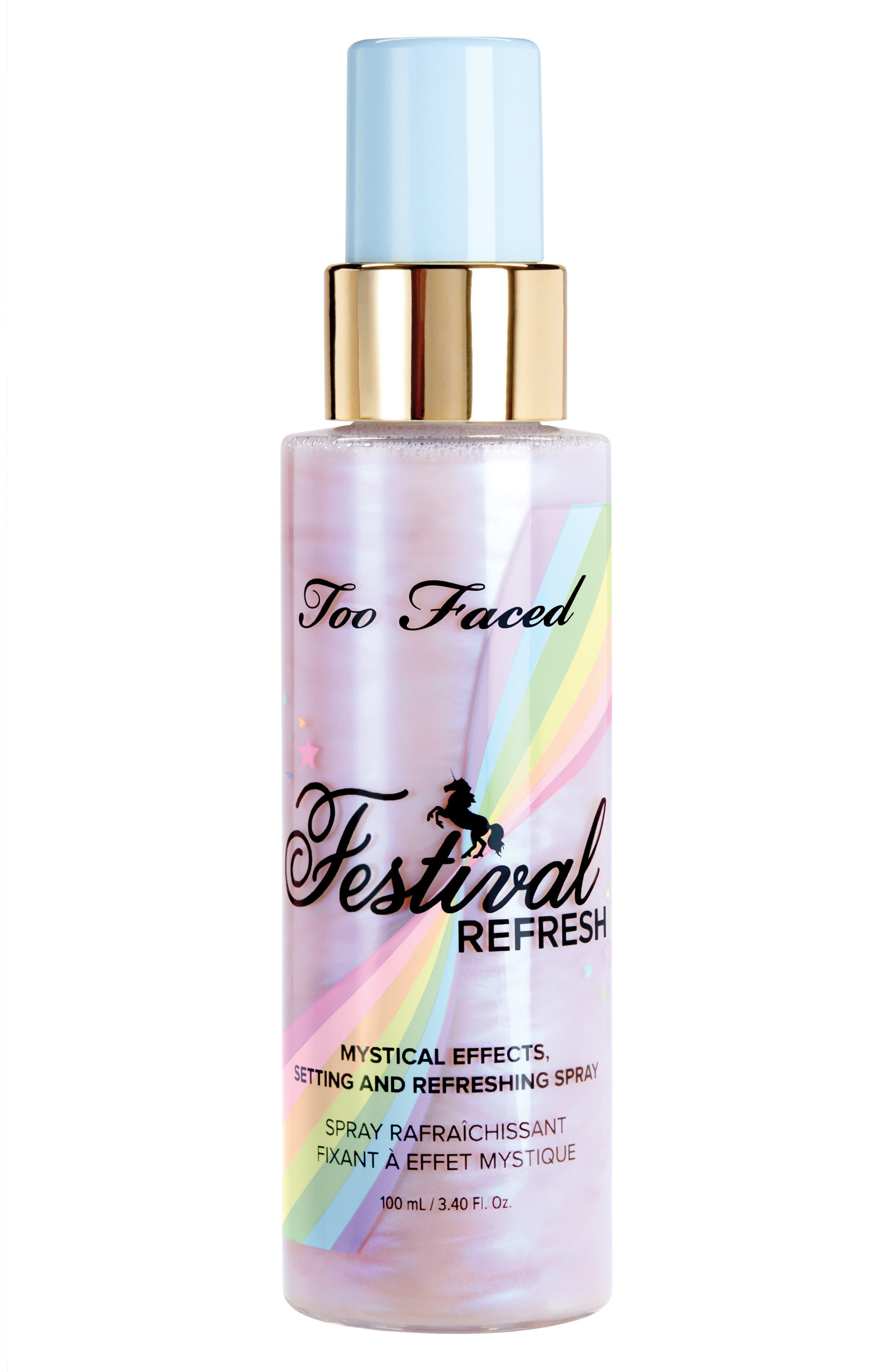 Festival Refresh Spray,                         Main,                         color, No Color