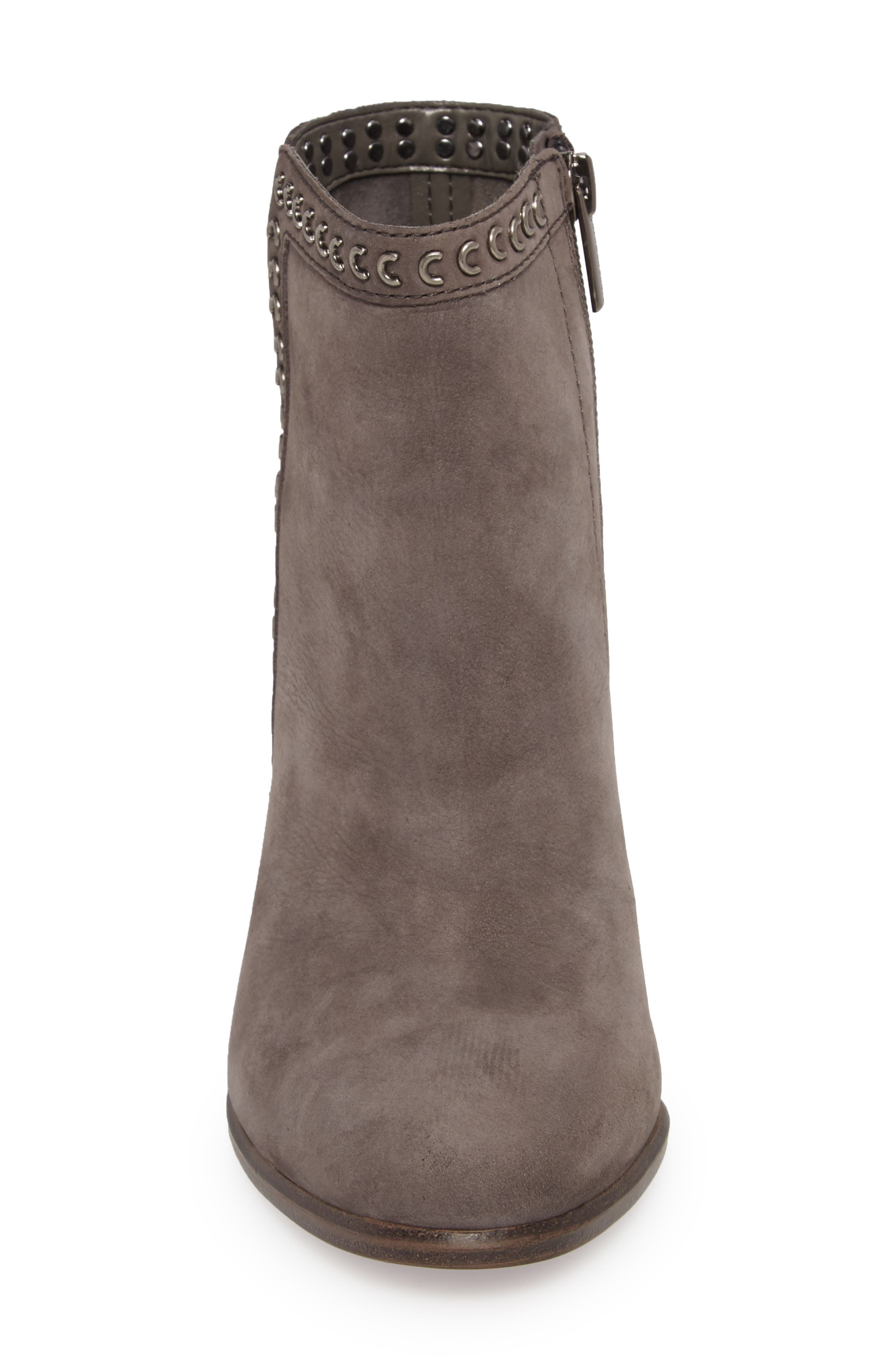 Finchie Bootie,                             Alternate thumbnail 4, color,                             Greystone Leather