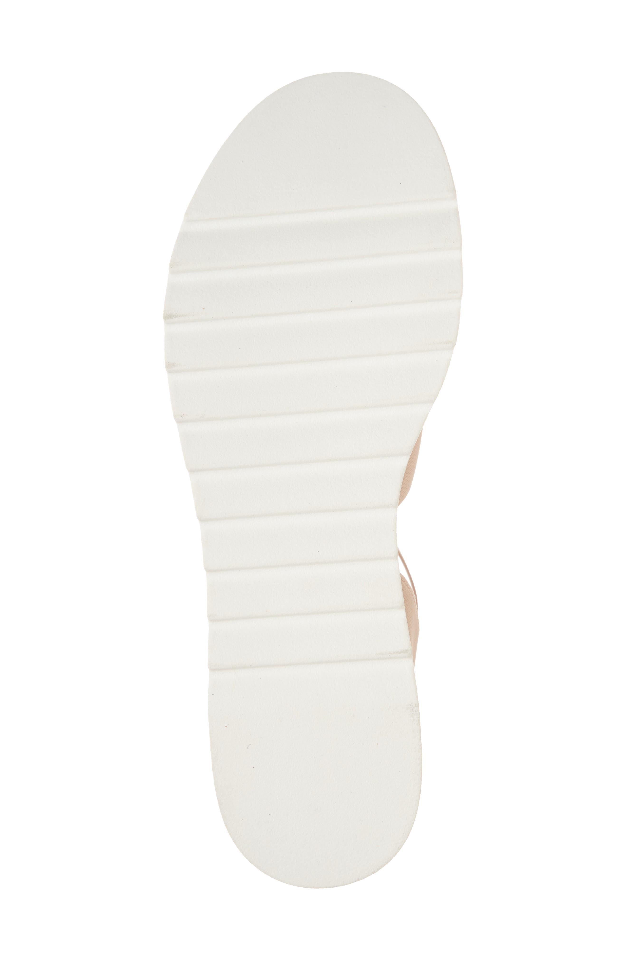 Bandi Platform Wedge Sandal,                             Alternate thumbnail 6, color,                             Blush