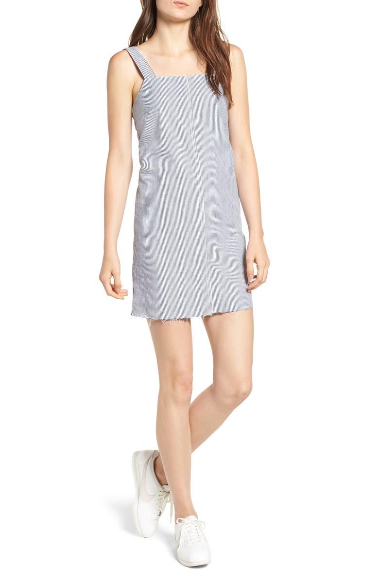 Tide Lace-Up Back Shift Dress