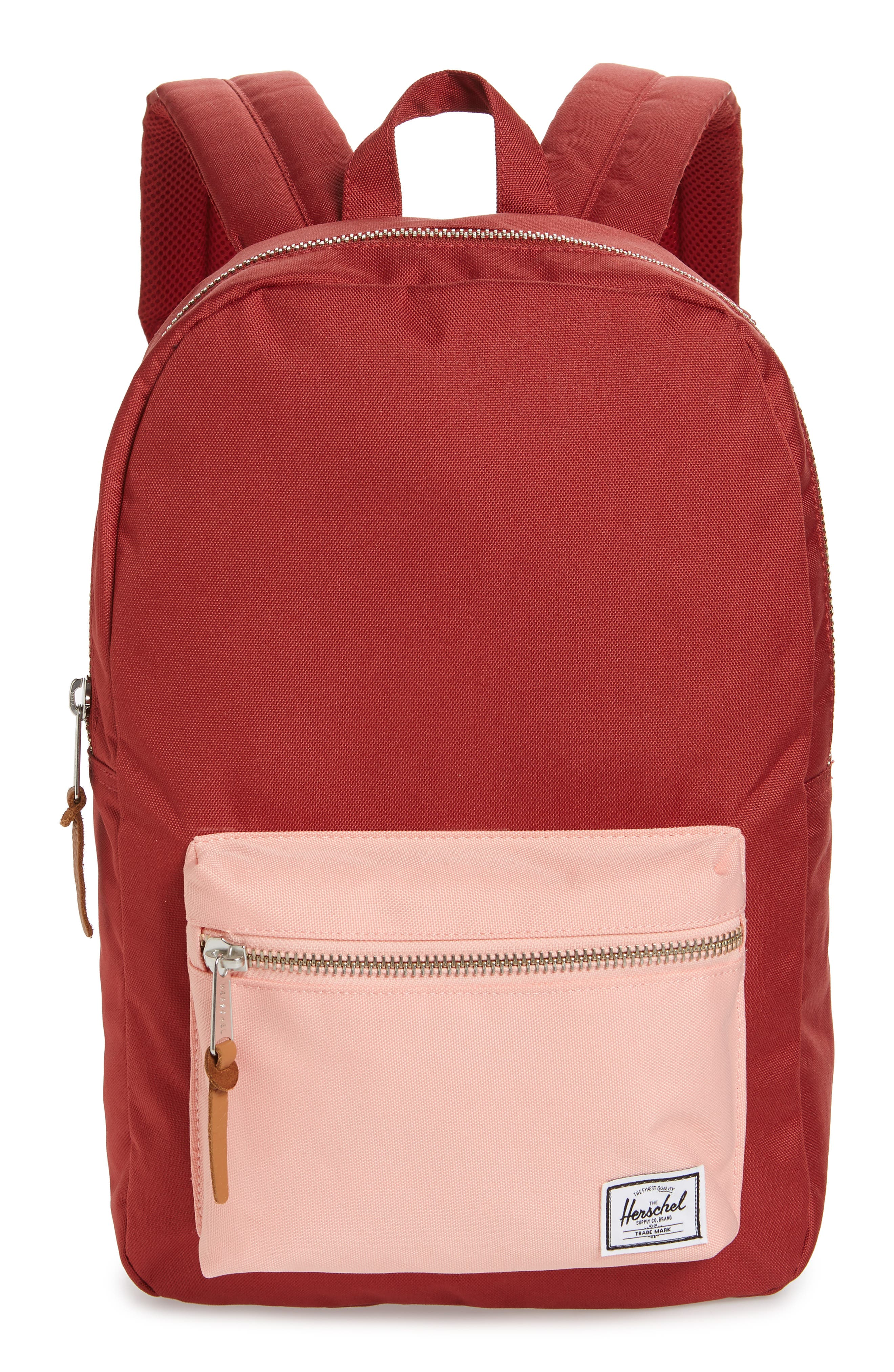 'Settlement Mid Volume' Backpack,                             Main thumbnail 1, color,                             Brick Red/ Peach