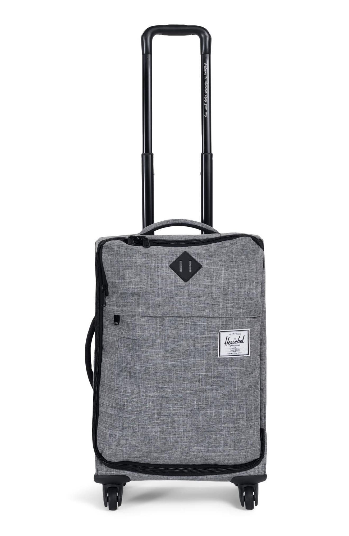 HIGHLAND 22-INCH WHEELED CARRY-ON - GREY