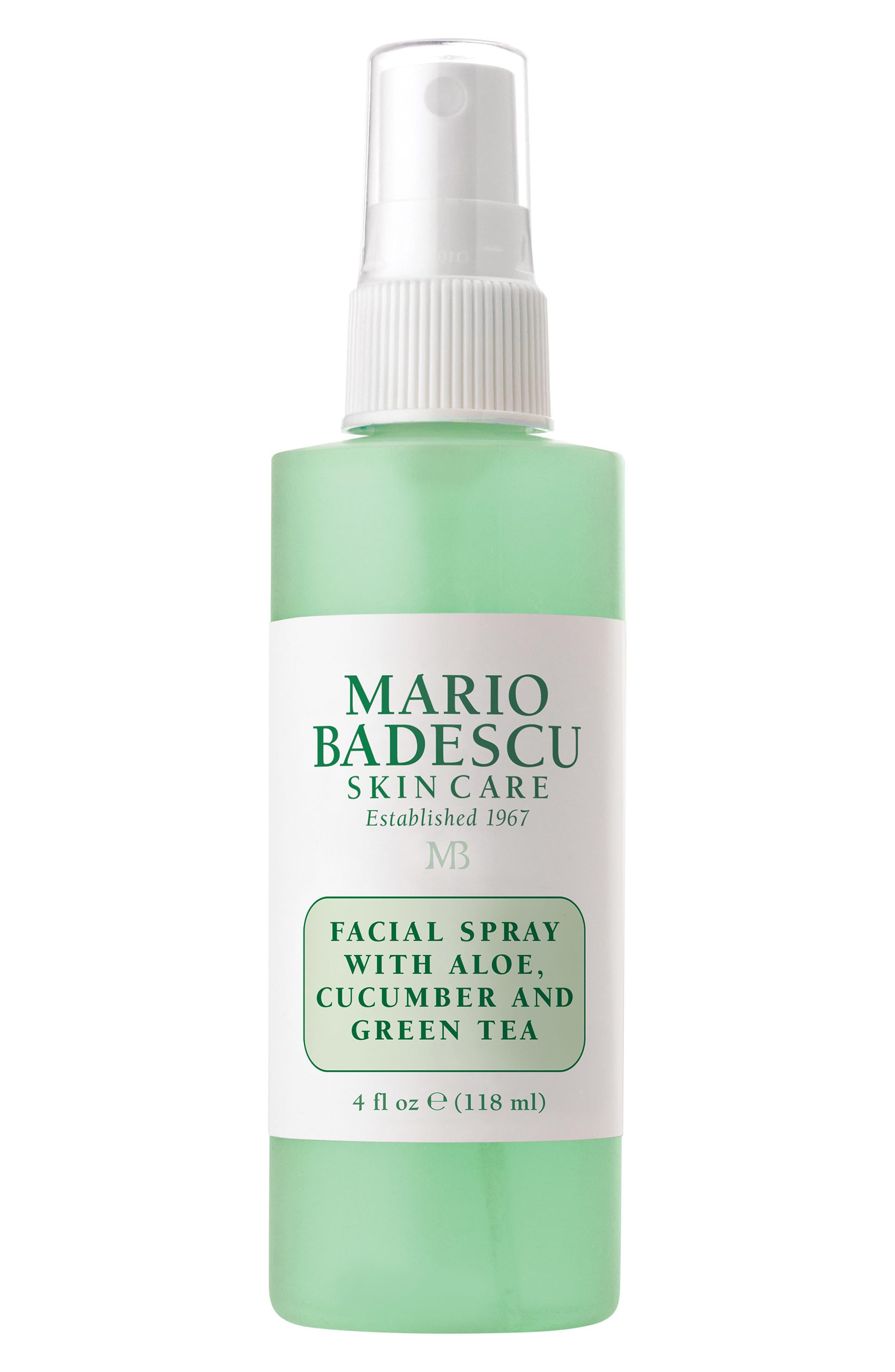Facial Spray with Aloe, Cucumber & Green Tea,                         Main,                         color, No Color