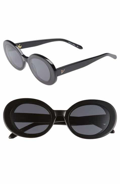 74d0e1d5e5 Vow London Selena 52mm Oval Sunglasses