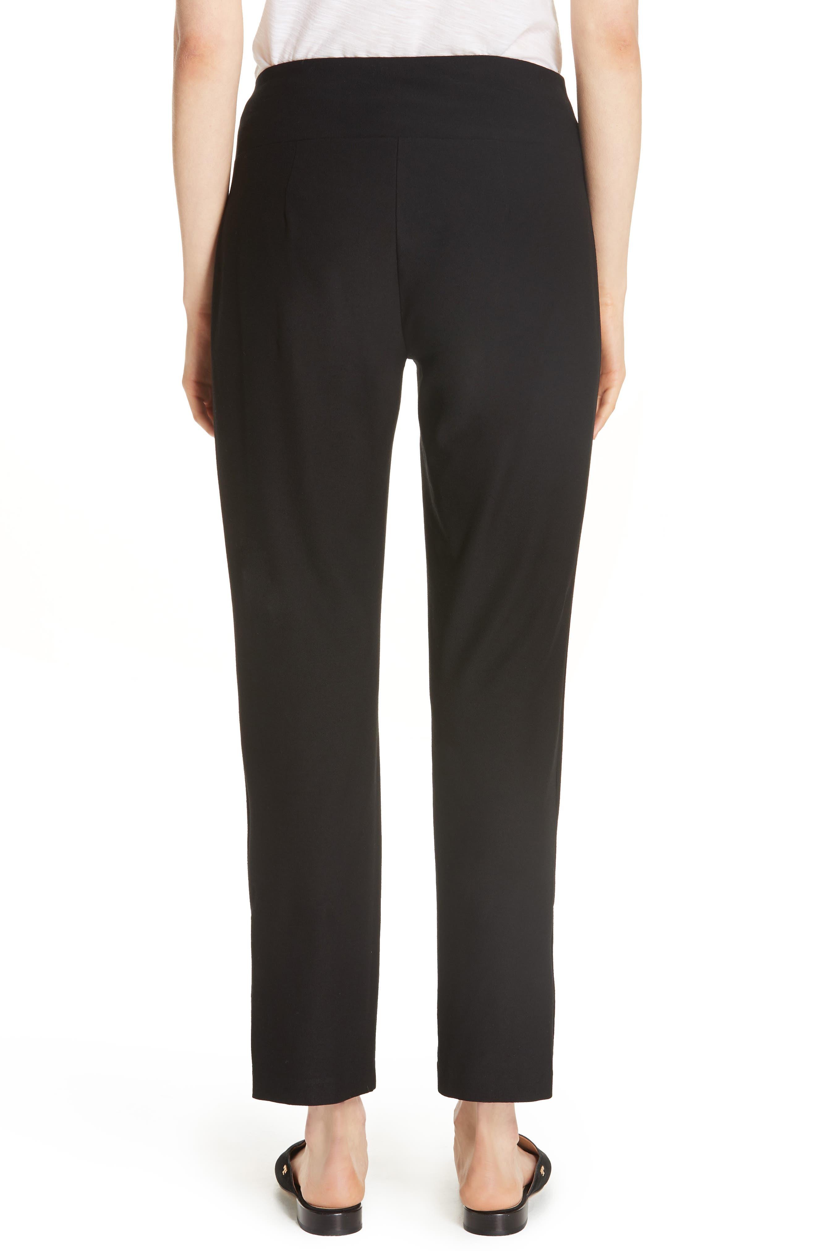Slim Knit Pants,                             Alternate thumbnail 2, color,                             Black