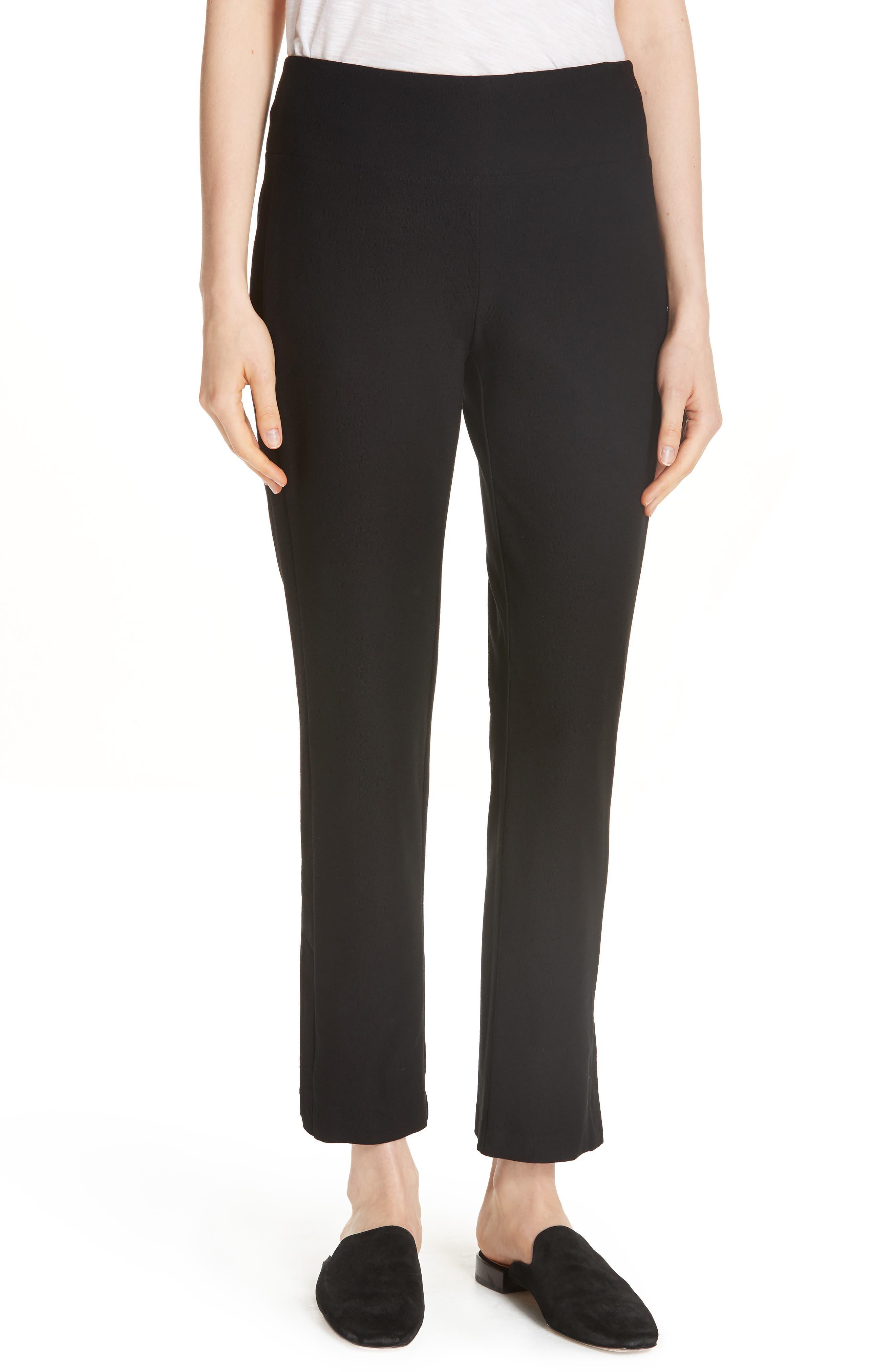 Slim Knit Pants,                         Main,                         color, Black