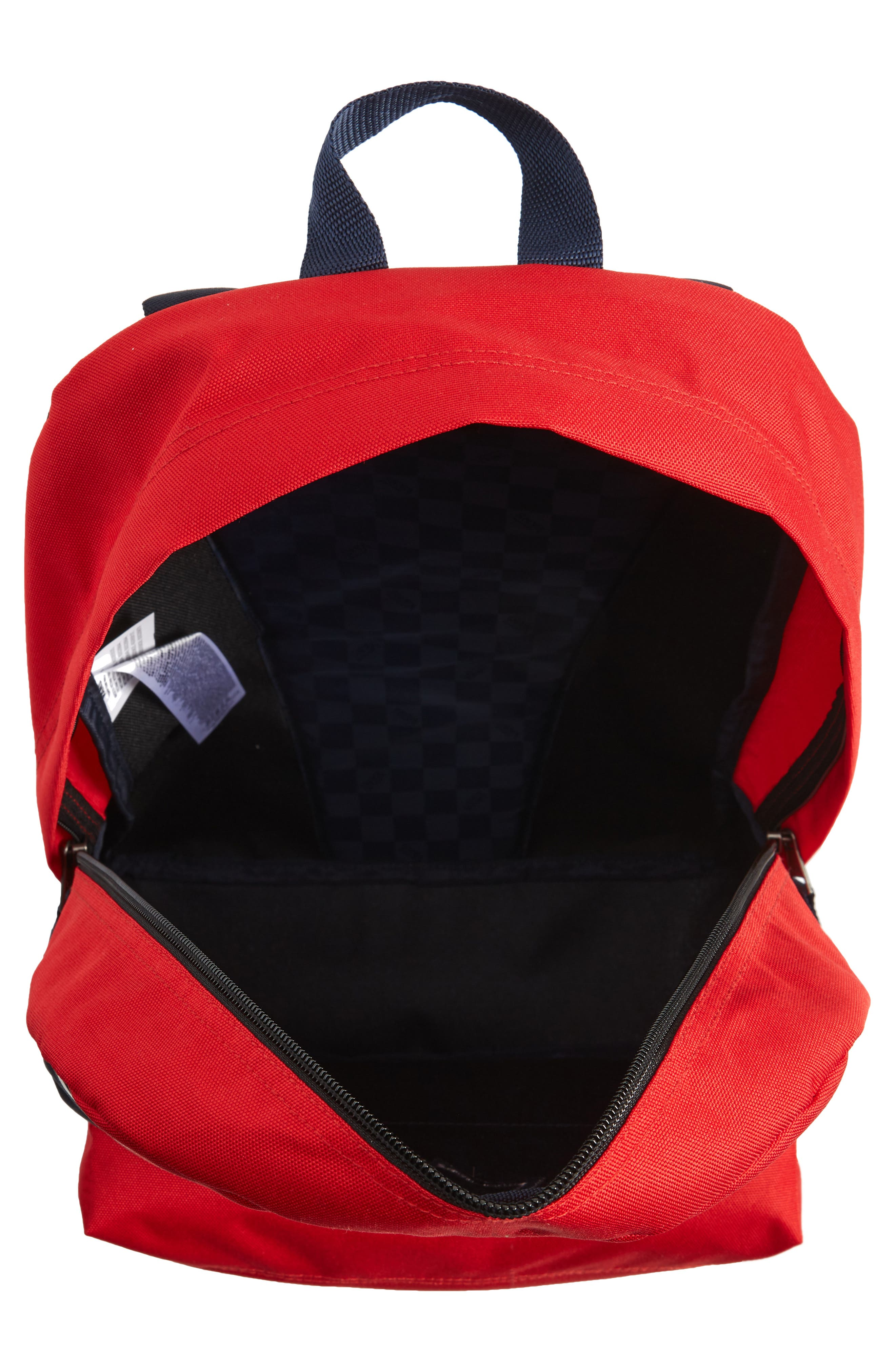 x Marvel<sup>®</sup> Captain Marvel Realm Backpack,                             Alternate thumbnail 4, color,                             Racing Red