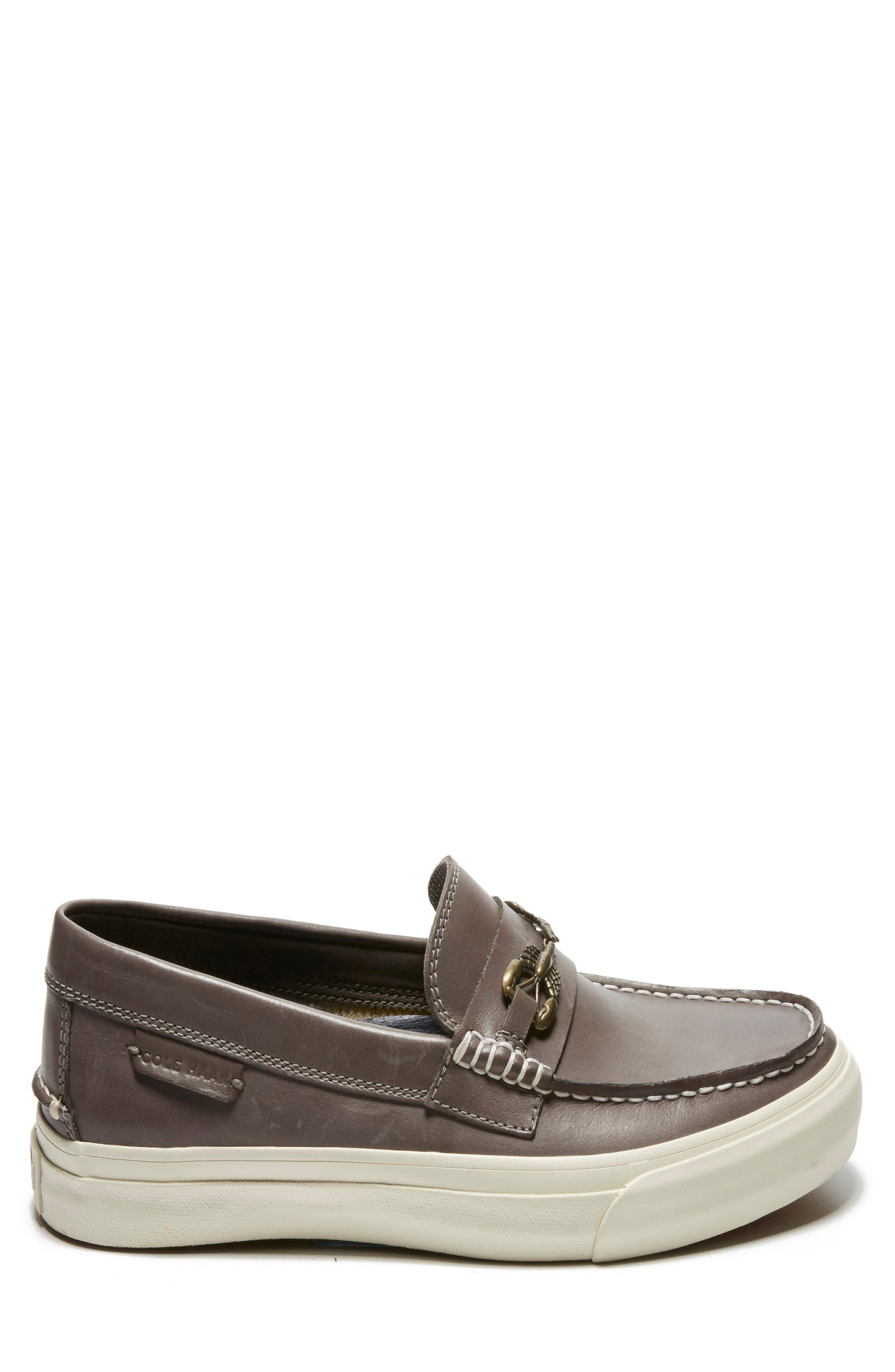 Pinch Weekend Loafer,                             Alternate thumbnail 6, color,                             Stormcloud Handstain