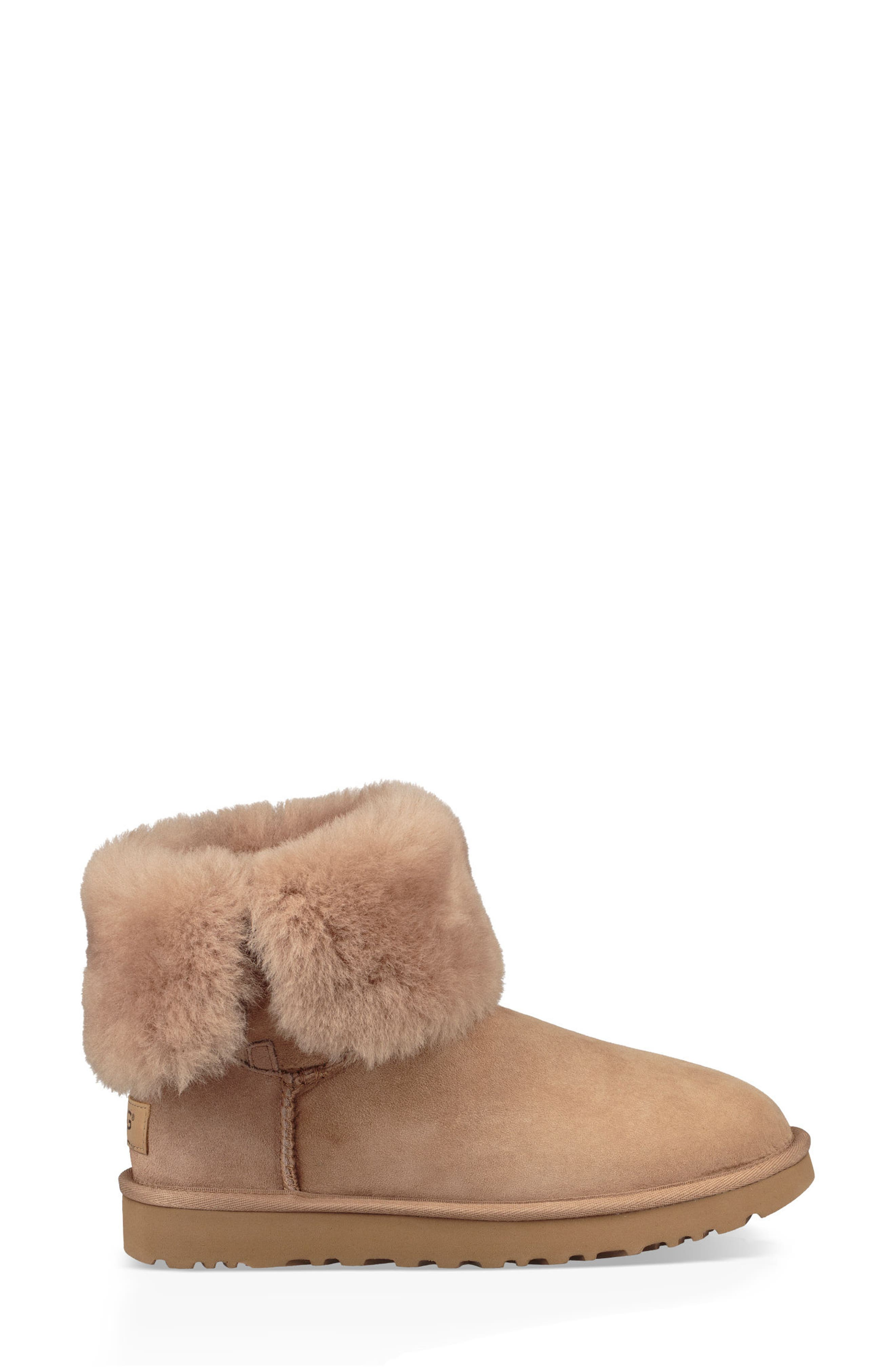 'Bailey Button II' Boot,                             Alternate thumbnail 4, color,                             Fawn Suede
