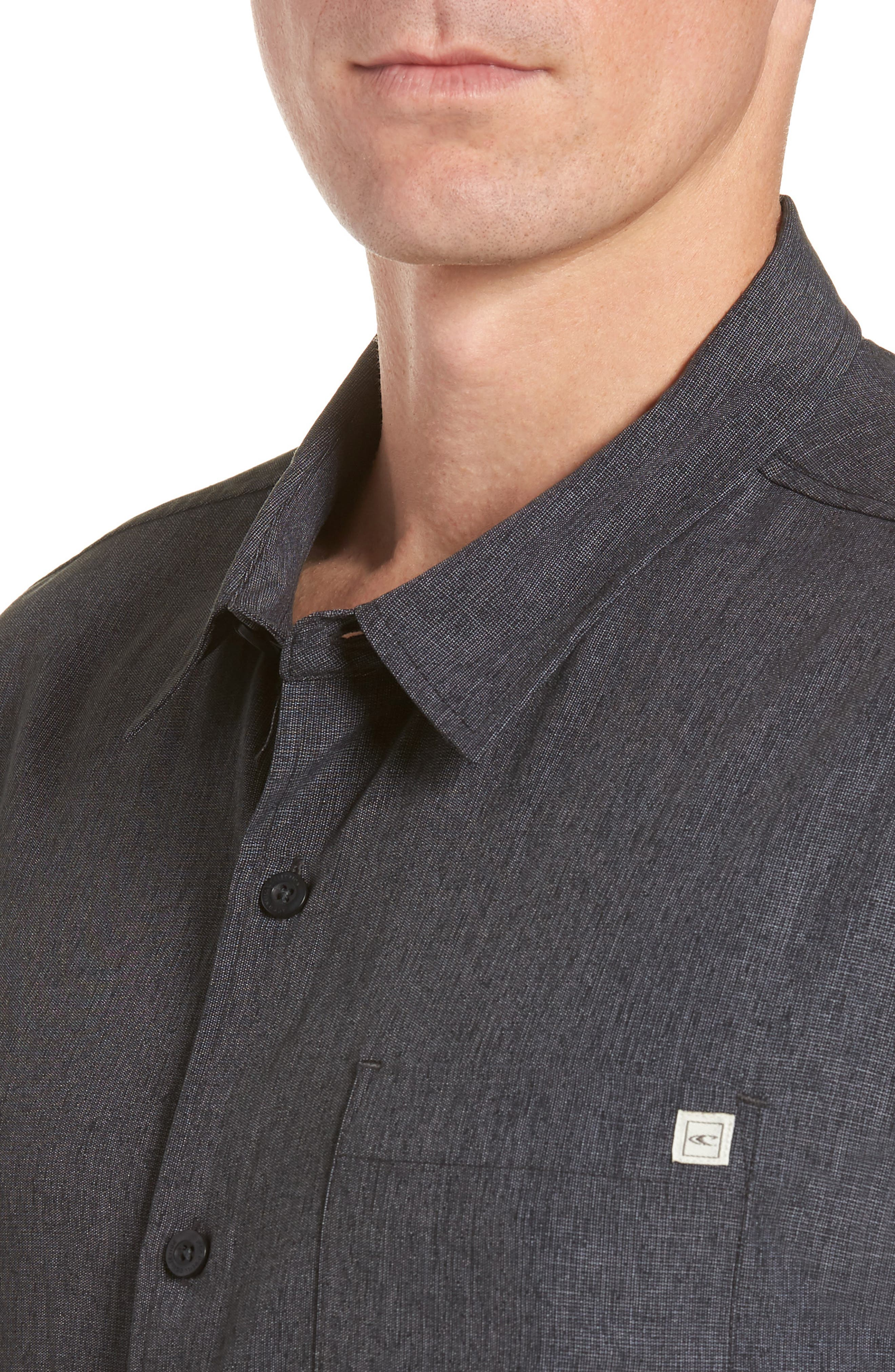 Liberty Regular Fit Short Sleeve Sport Shirt,                             Alternate thumbnail 2, color,                             Light Grey