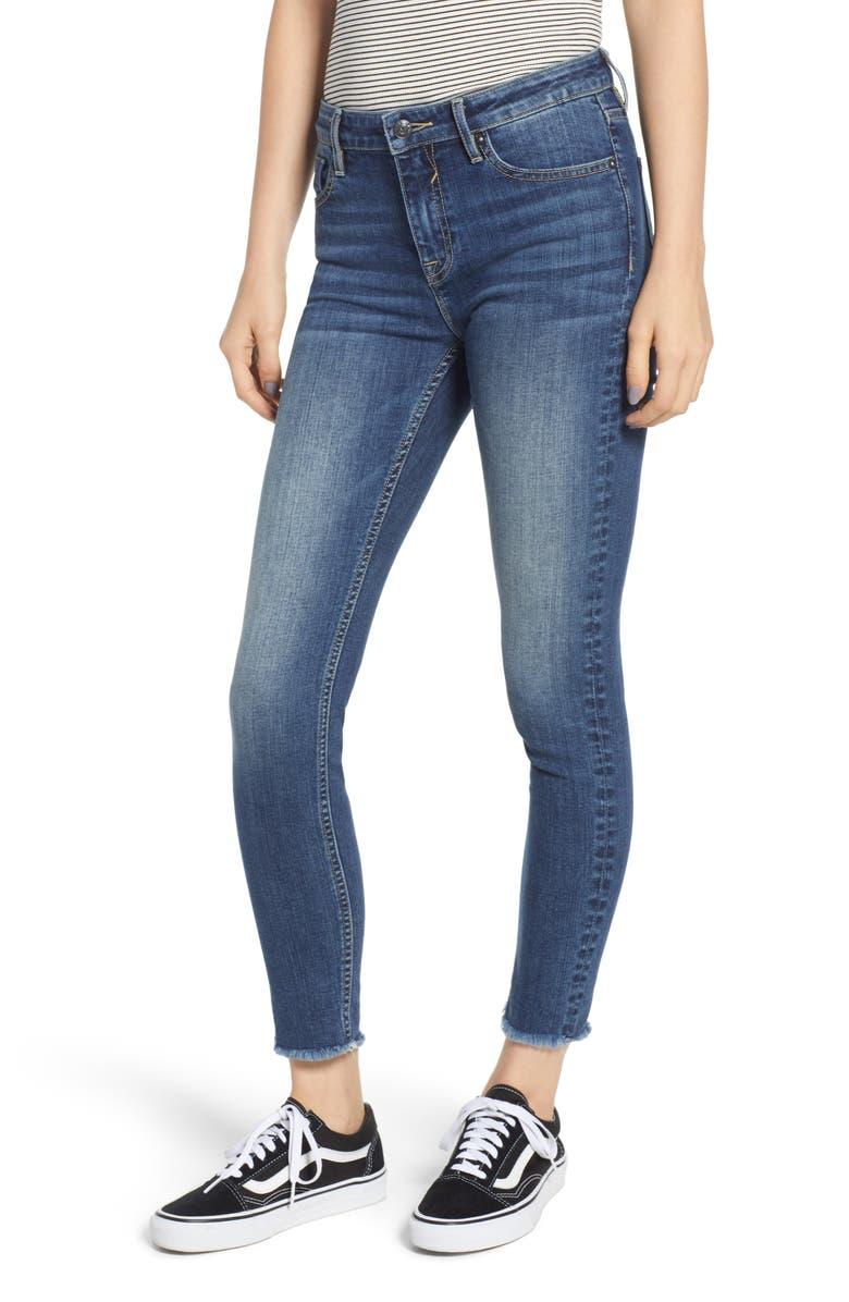 Marley Cutoff Skinny Jeans