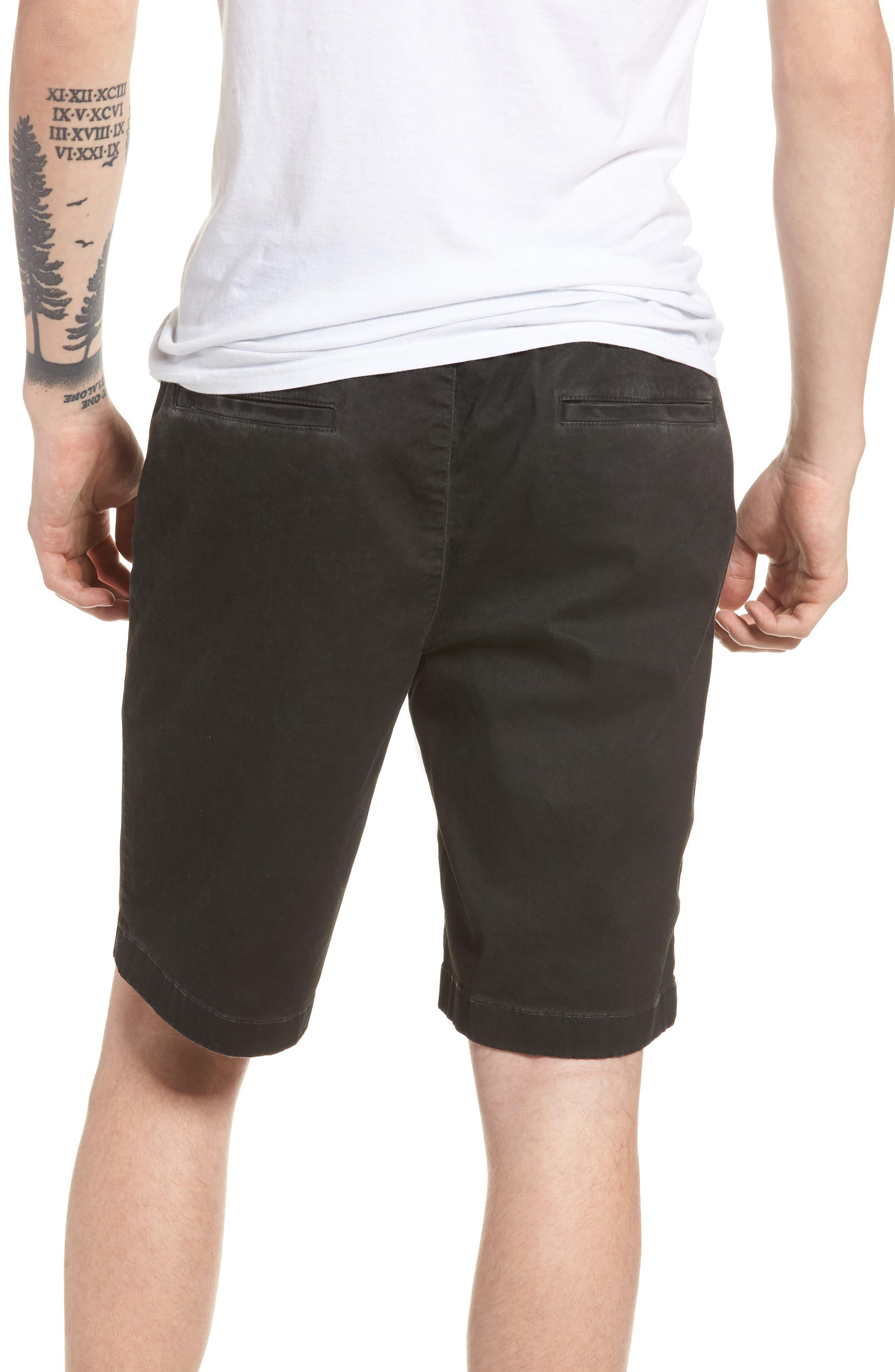 Pigment Dye Volley Shorts,                             Alternate thumbnail 2, color,                             Grey Onyx