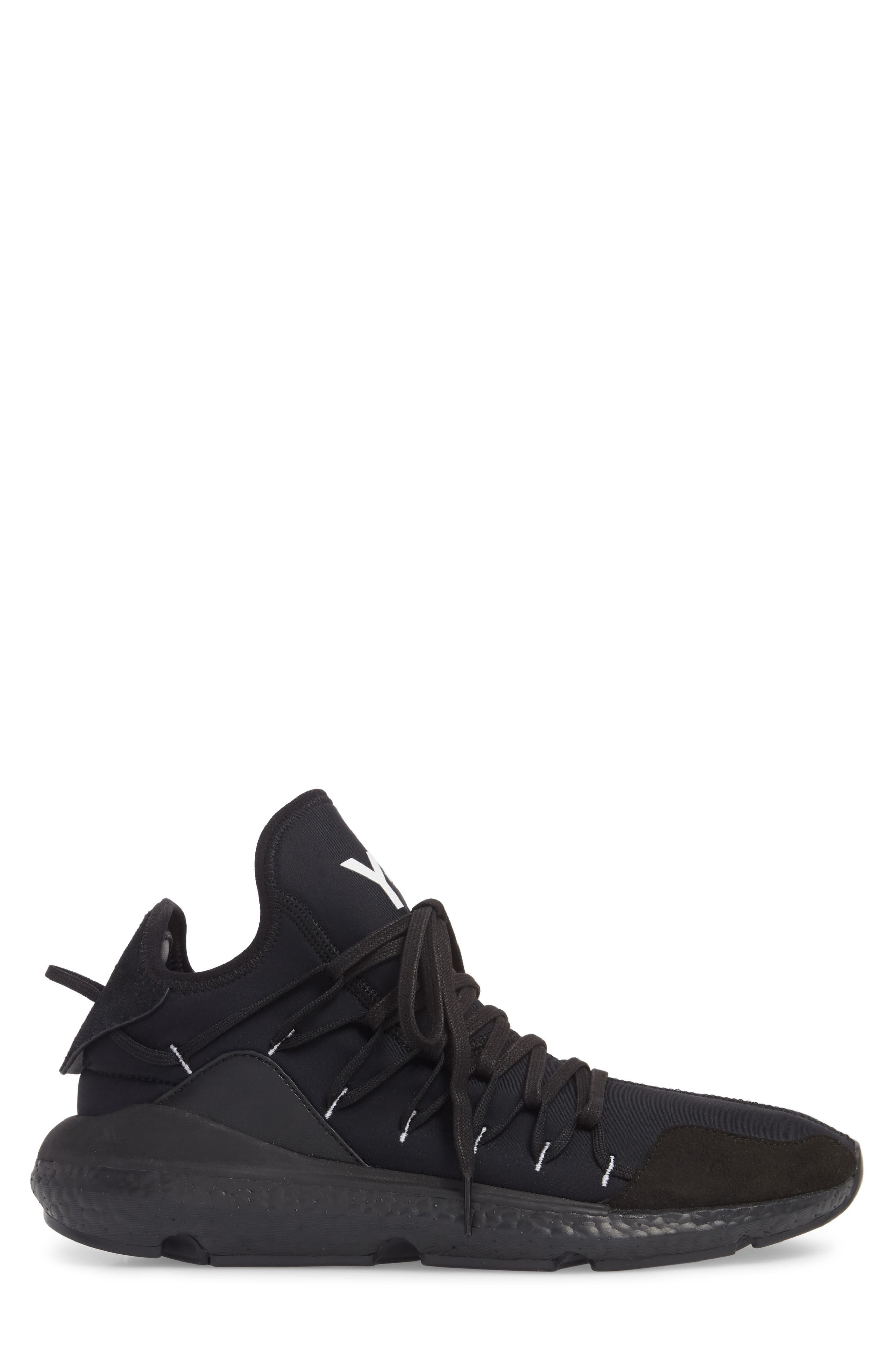 x adidas Kusari Sneaker,                             Alternate thumbnail 5, color,                             Black/Black