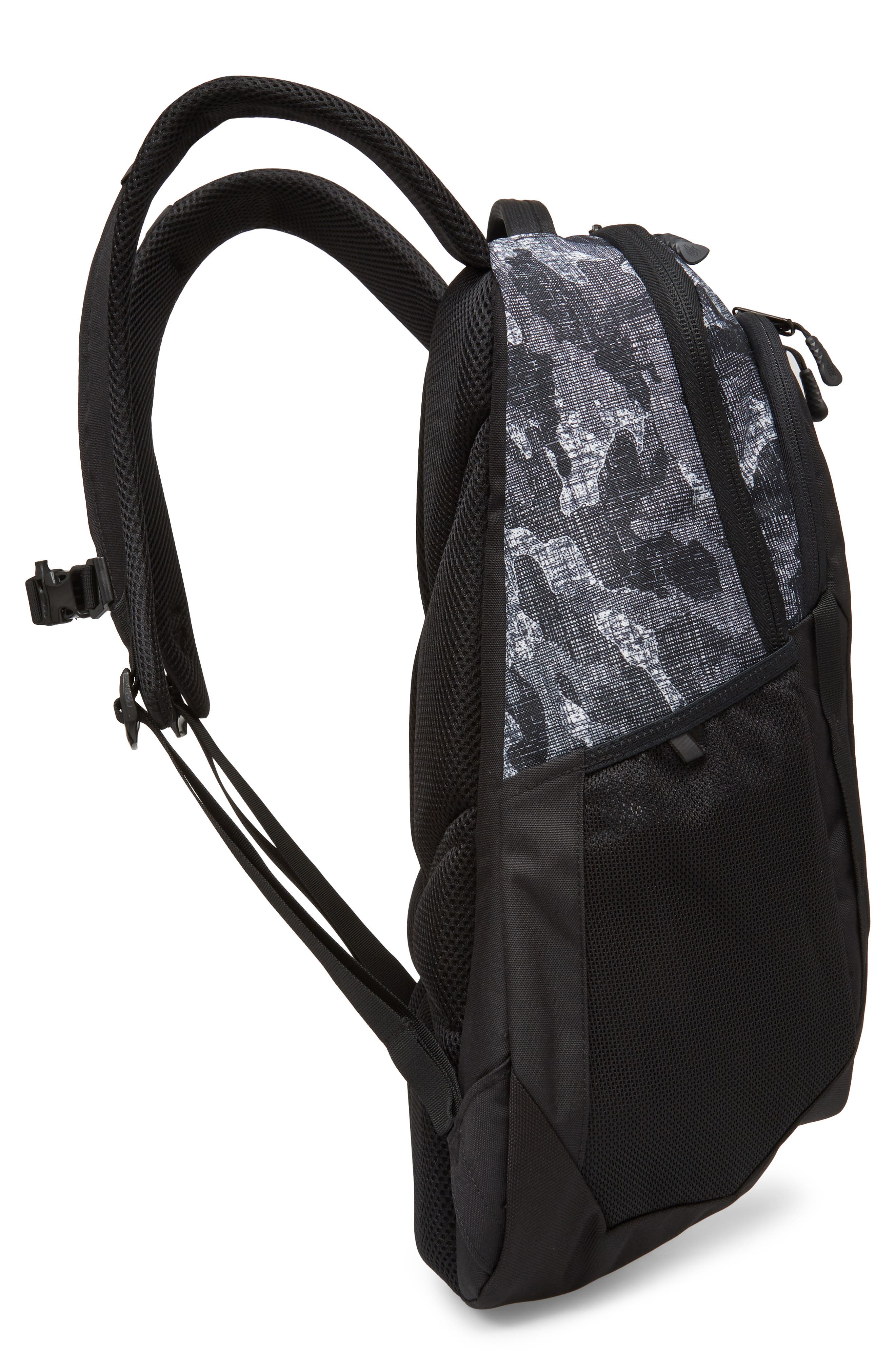 Vault Backpack,                             Alternate thumbnail 5, color,                             Tnf Black Textured Camo Print