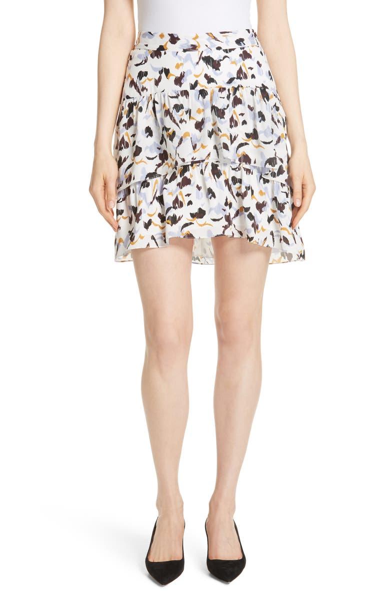 Baxter Silk Skirt