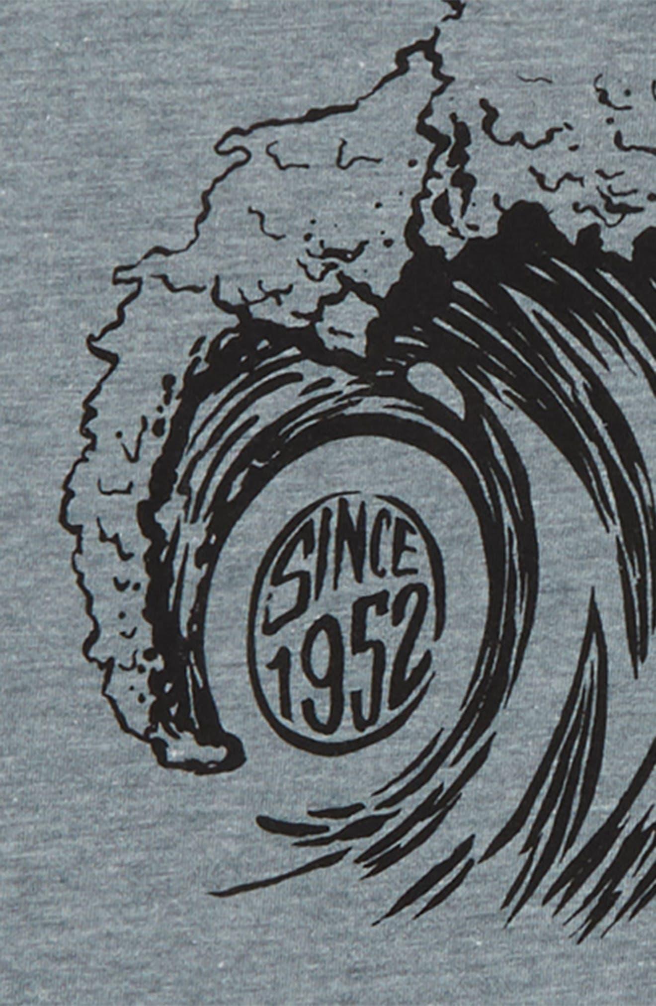 Sandspit Graphic T-Shirt,                             Alternate thumbnail 2, color,                             Medium Heather Grey