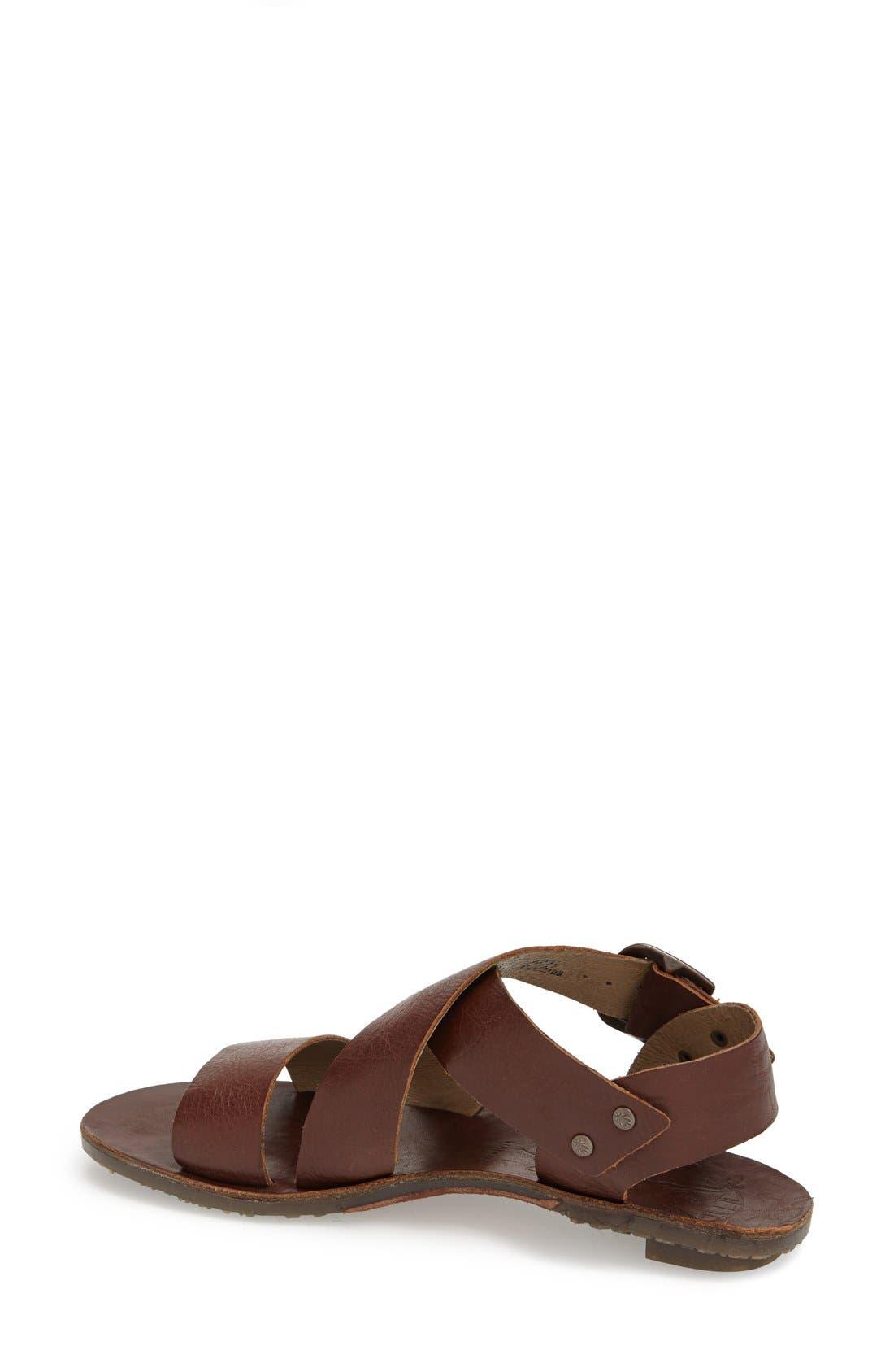 Alternate Image 2  - Fly London 'Bian' Flat Leather Sandal (Women)