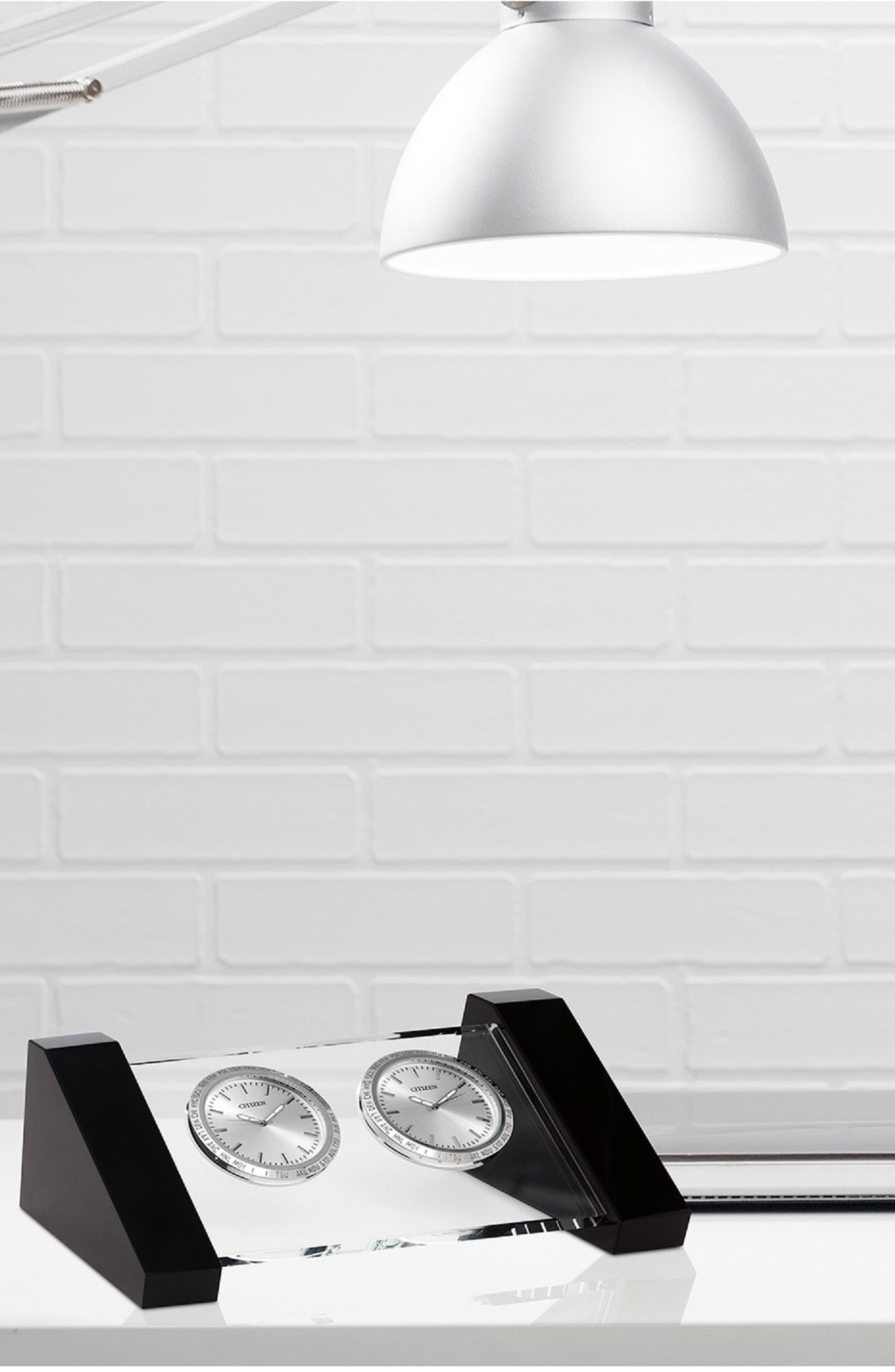 Workplace Dual Time Clock,                             Alternate thumbnail 2, color,                             Black