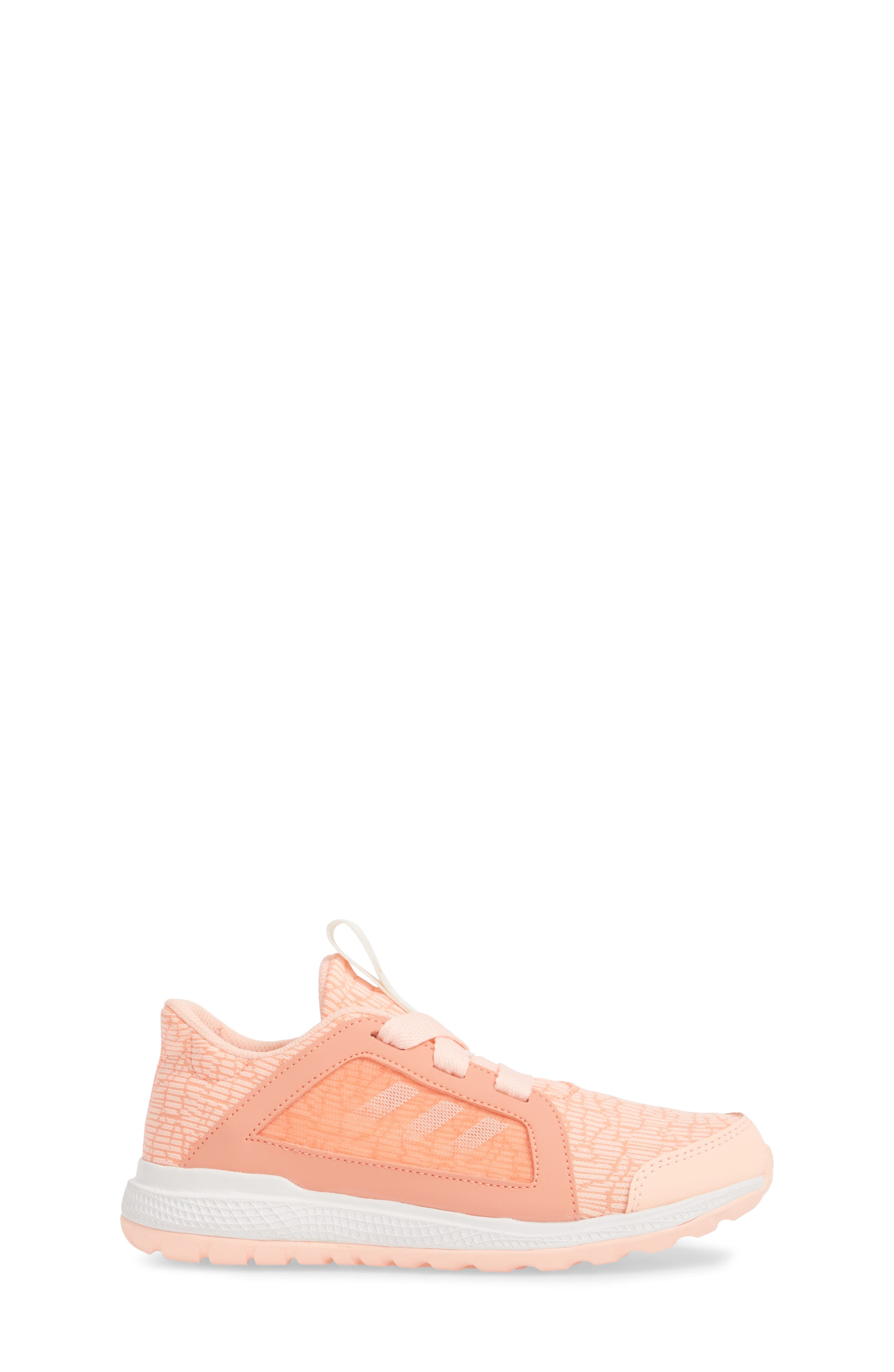Edge Lux Running Shoe,                             Alternate thumbnail 3, color,                             Chalk Coral/ White/ Orange