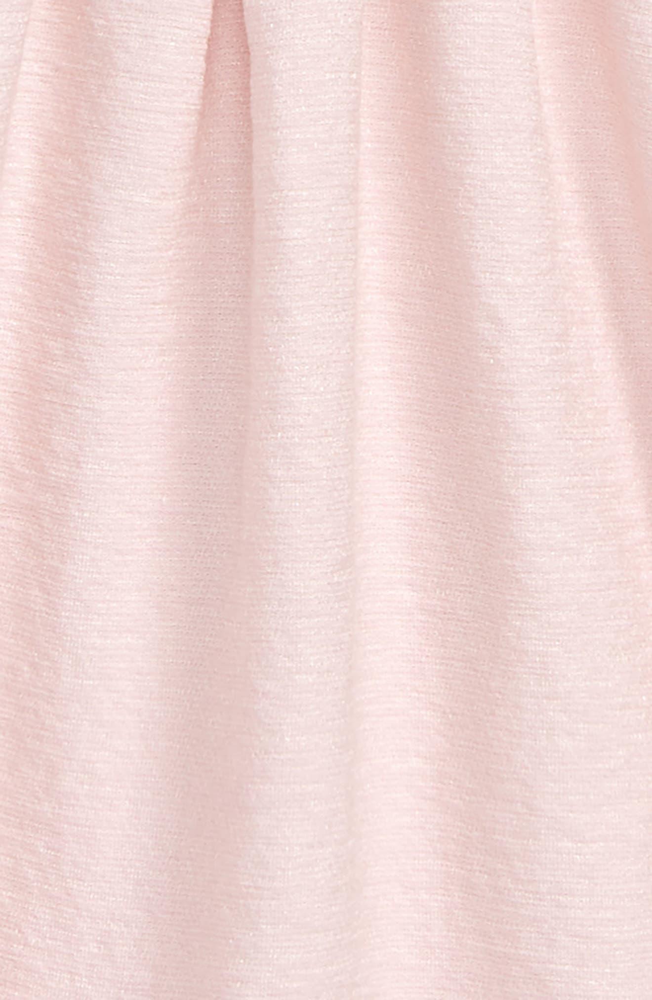 Estella Bow Party Dress,                             Alternate thumbnail 3, color,                             Potpourri