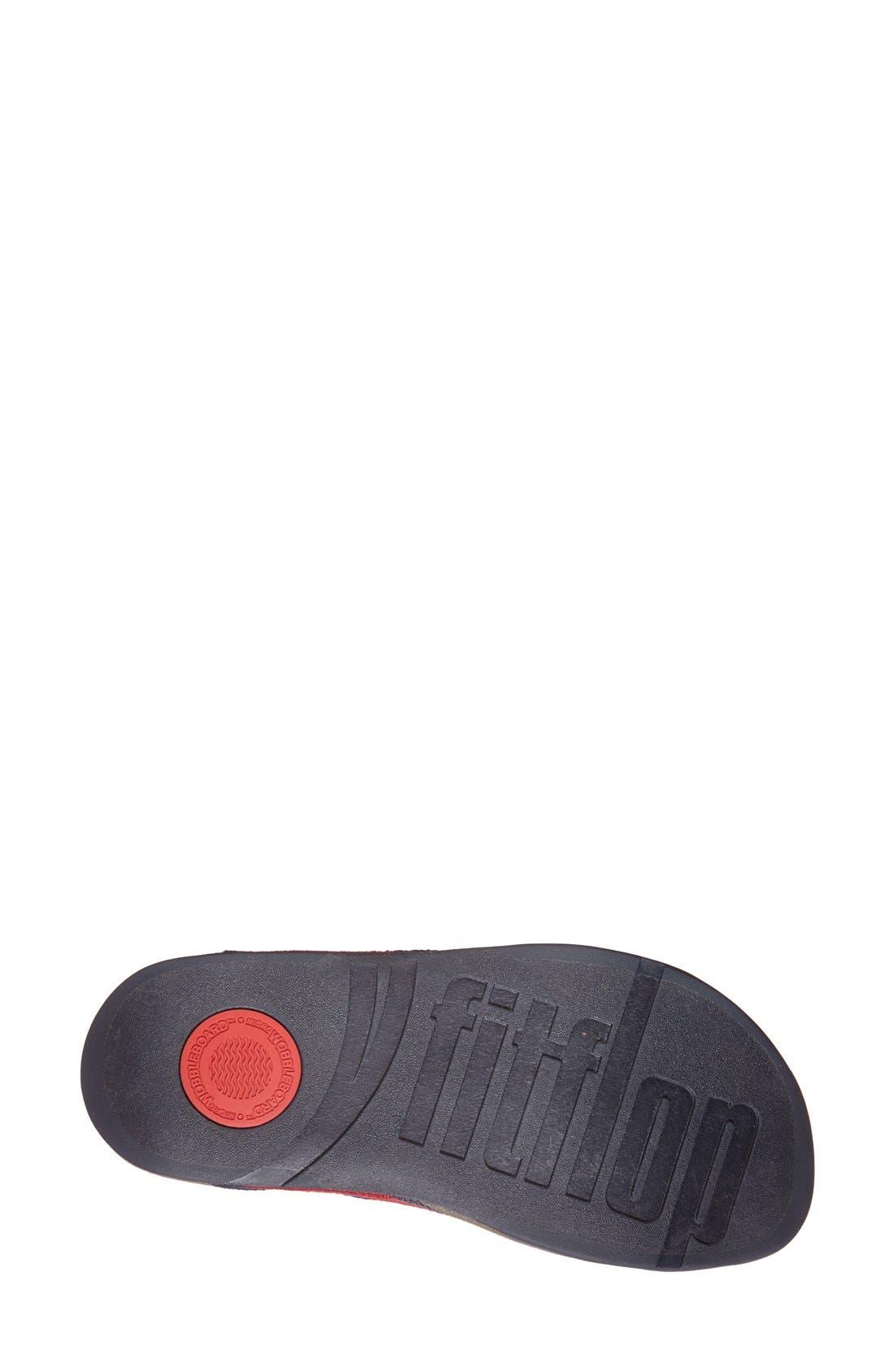 Alternate Image 4  - FitFlop™ 'Surfer' Slide Sandal (Men)