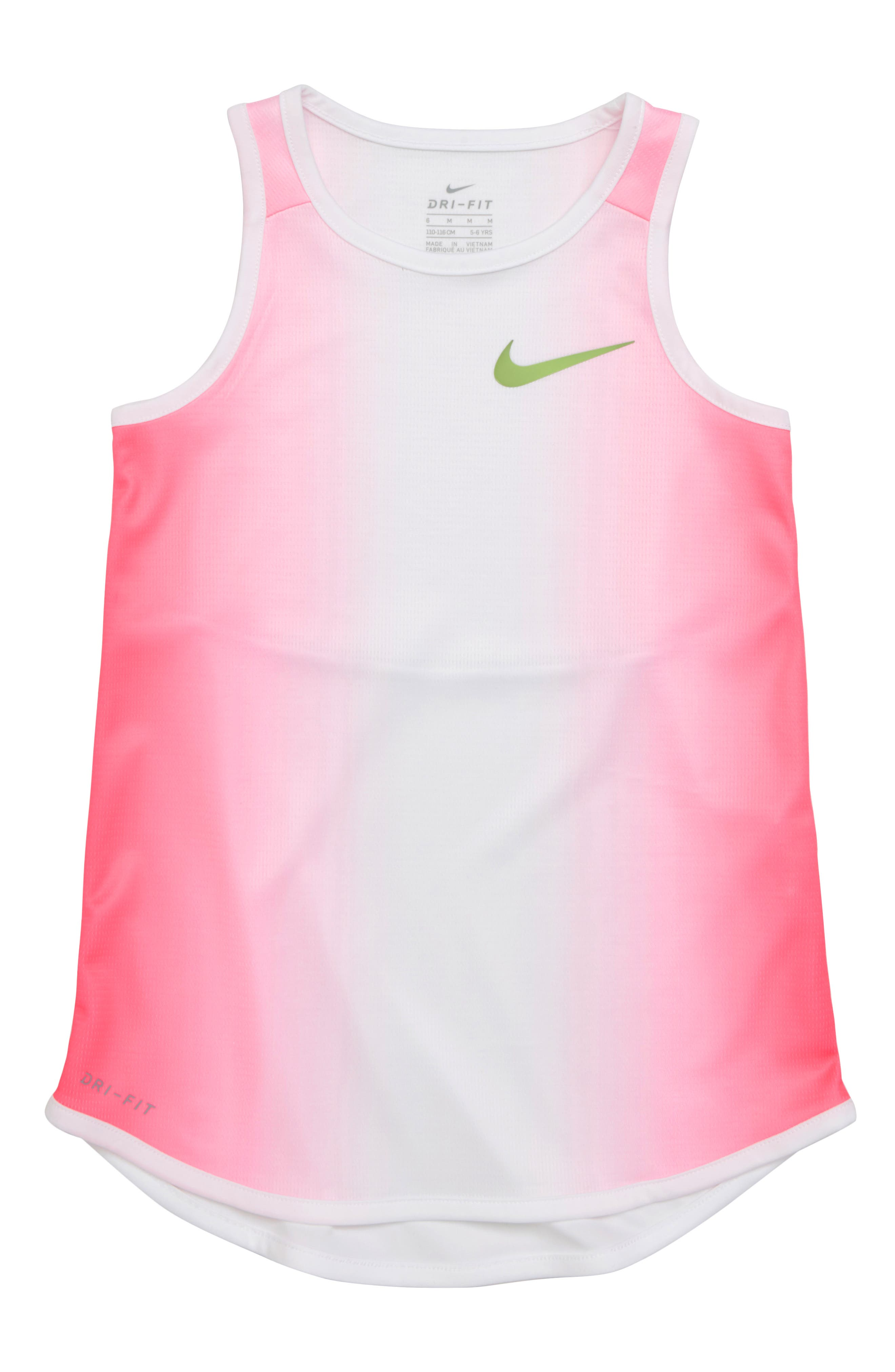 Dry Insta Cool Tank,                             Alternate thumbnail 4, color,                             Racer Pink
