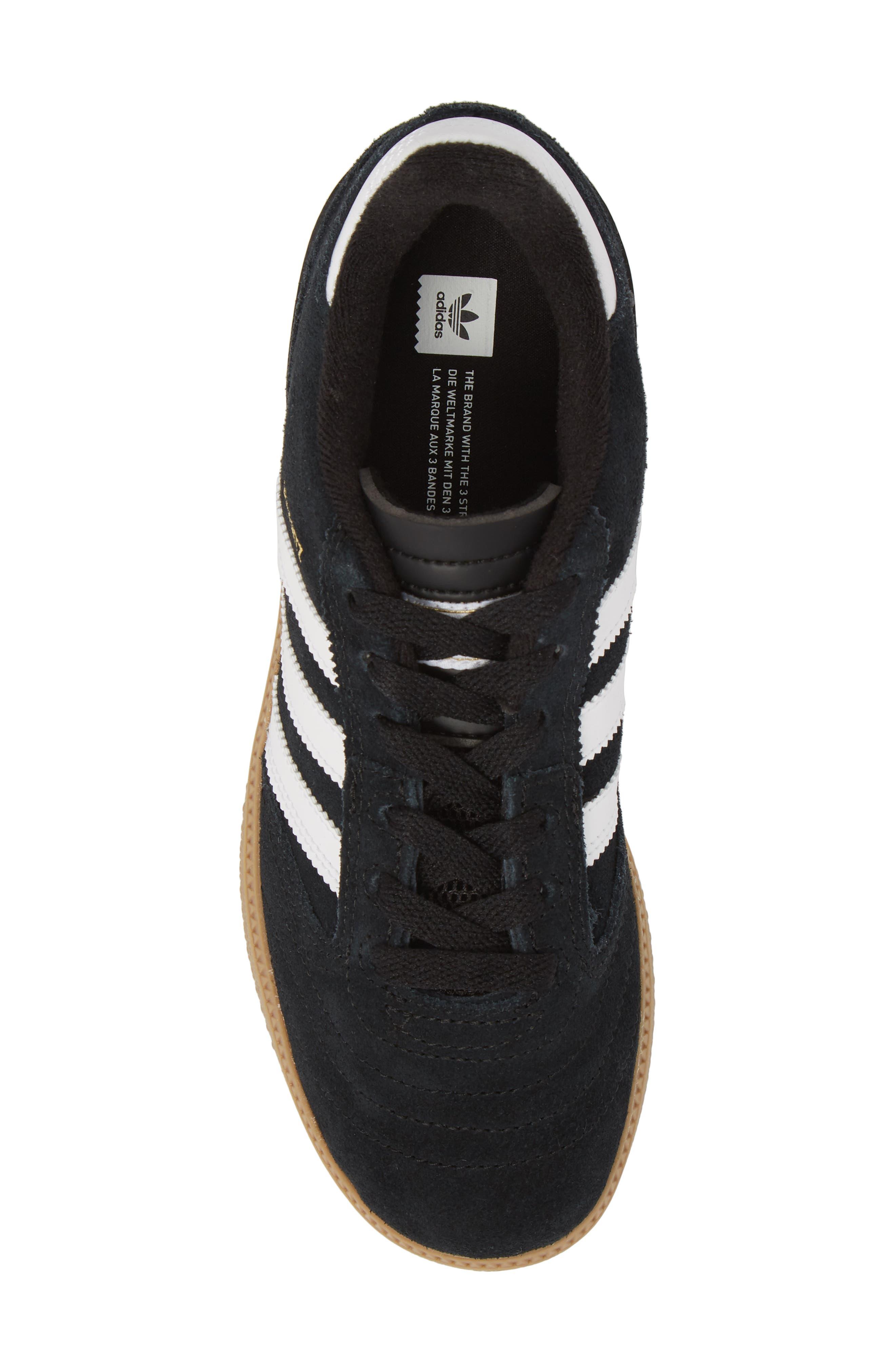 Busenitz Skateboarding Sneaker,                             Alternate thumbnail 4, color,                             Black/ White/ Gold