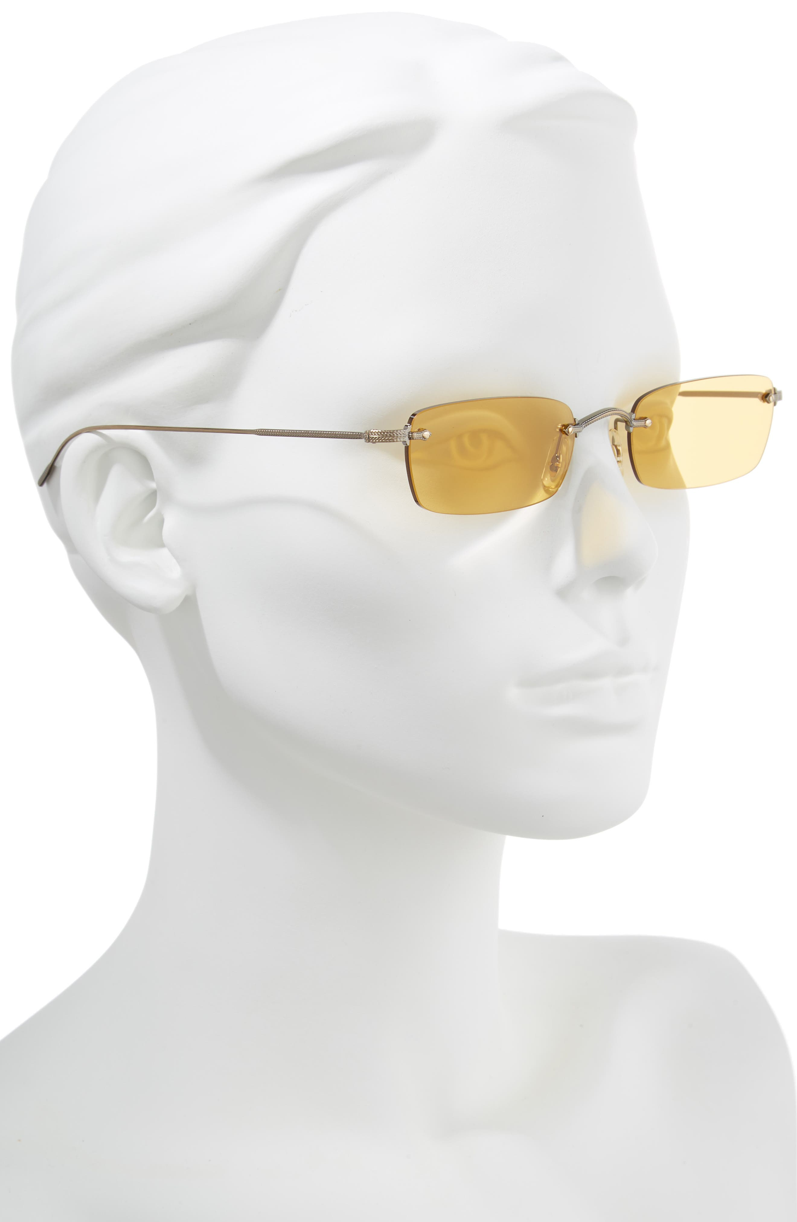 Daveigh 54mm Sunglasses,                             Alternate thumbnail 2, color,                             Mustard
