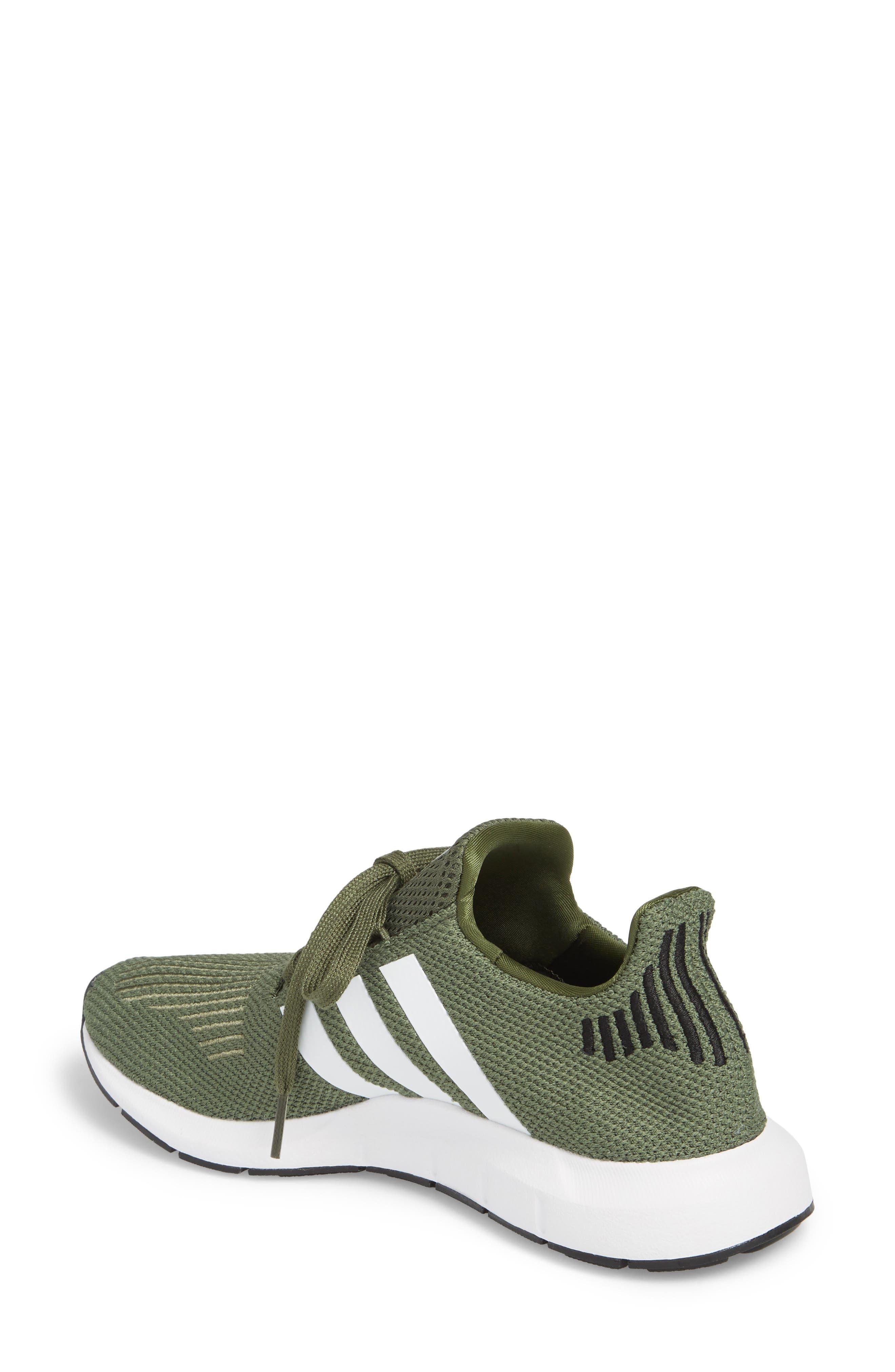 Swift Run Sneaker,                             Alternate thumbnail 2, color,                             Base Green/ White/ Black