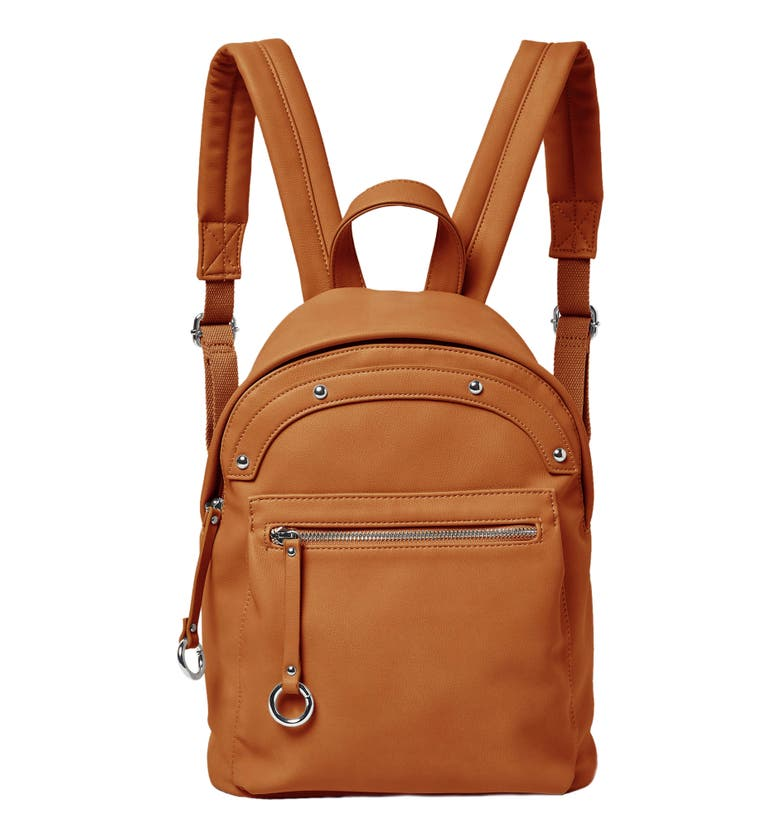 Urban Originals VEGAN LEATHER SUNNY DAY BACKPACK - BROWN