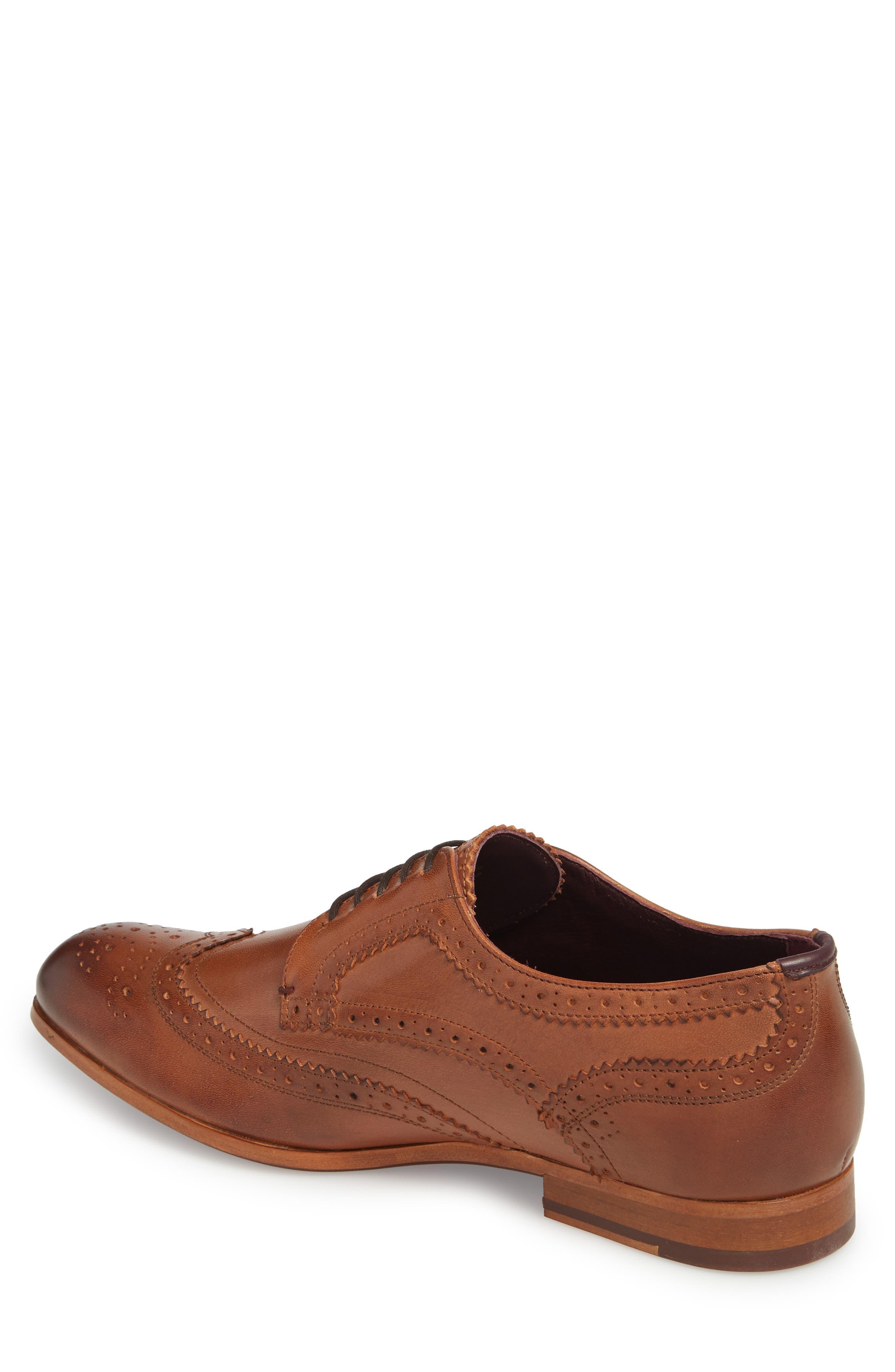 Camyli Wingtip,                             Alternate thumbnail 2, color,                             Tan Leather