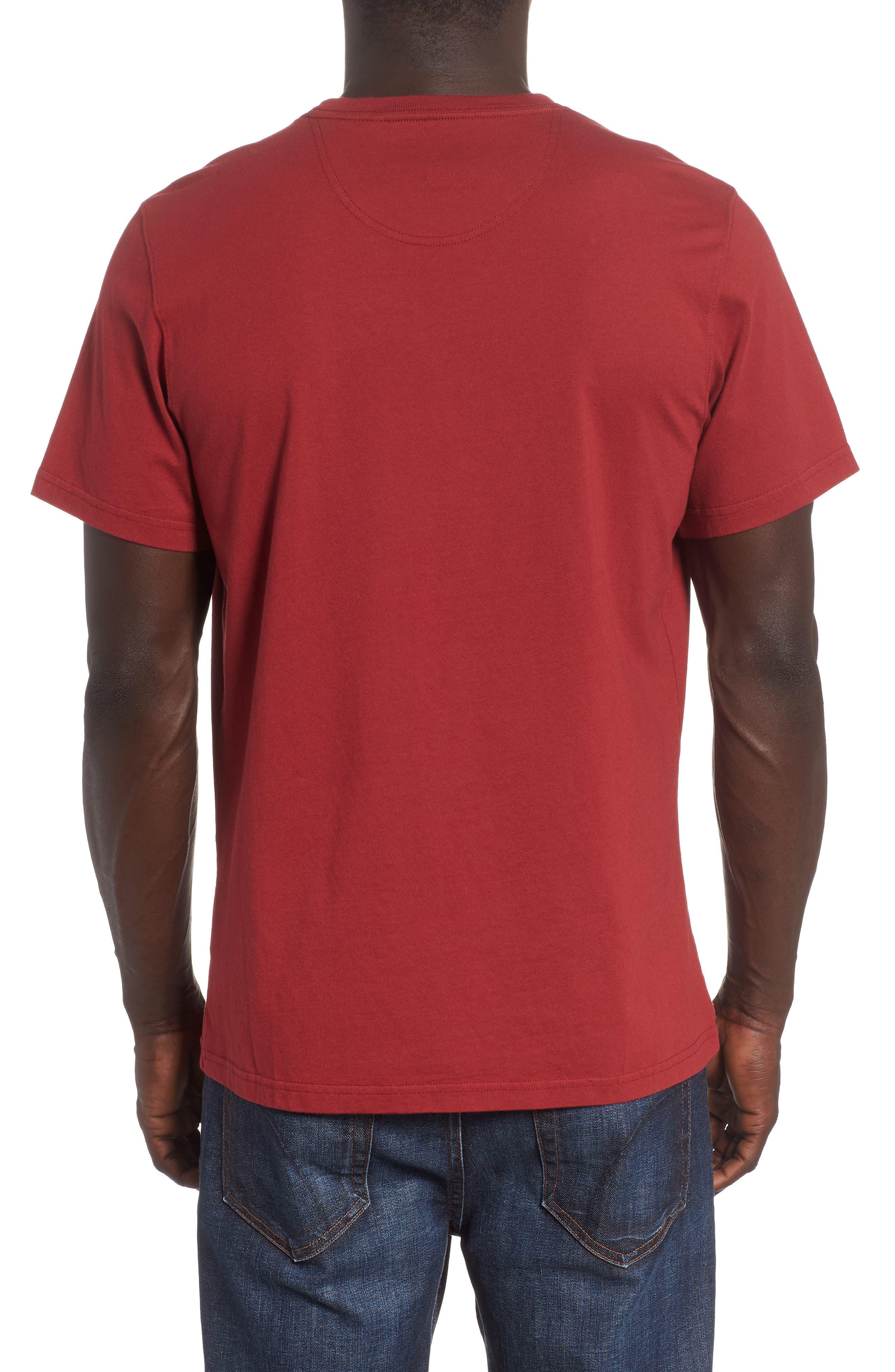 Anchor Graphic T-Shirt,                             Alternate thumbnail 2, color,                             Biking Red