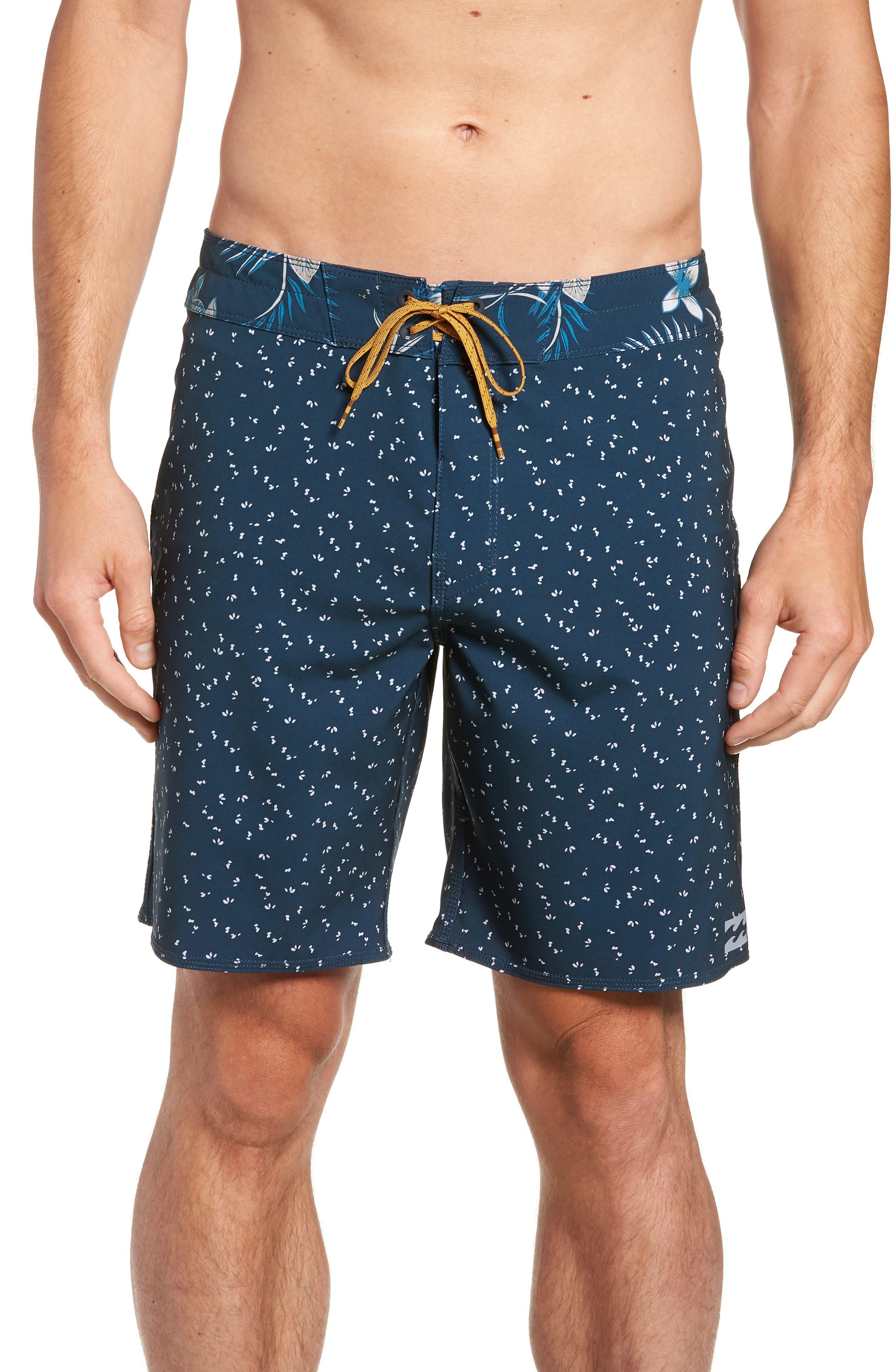 Sundays X Board Shorts,                             Main thumbnail 1, color,                             Indigo