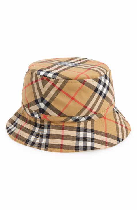Burberry Chandy Check Hat (Little Kid   Big Kid) 9359edbb3a3