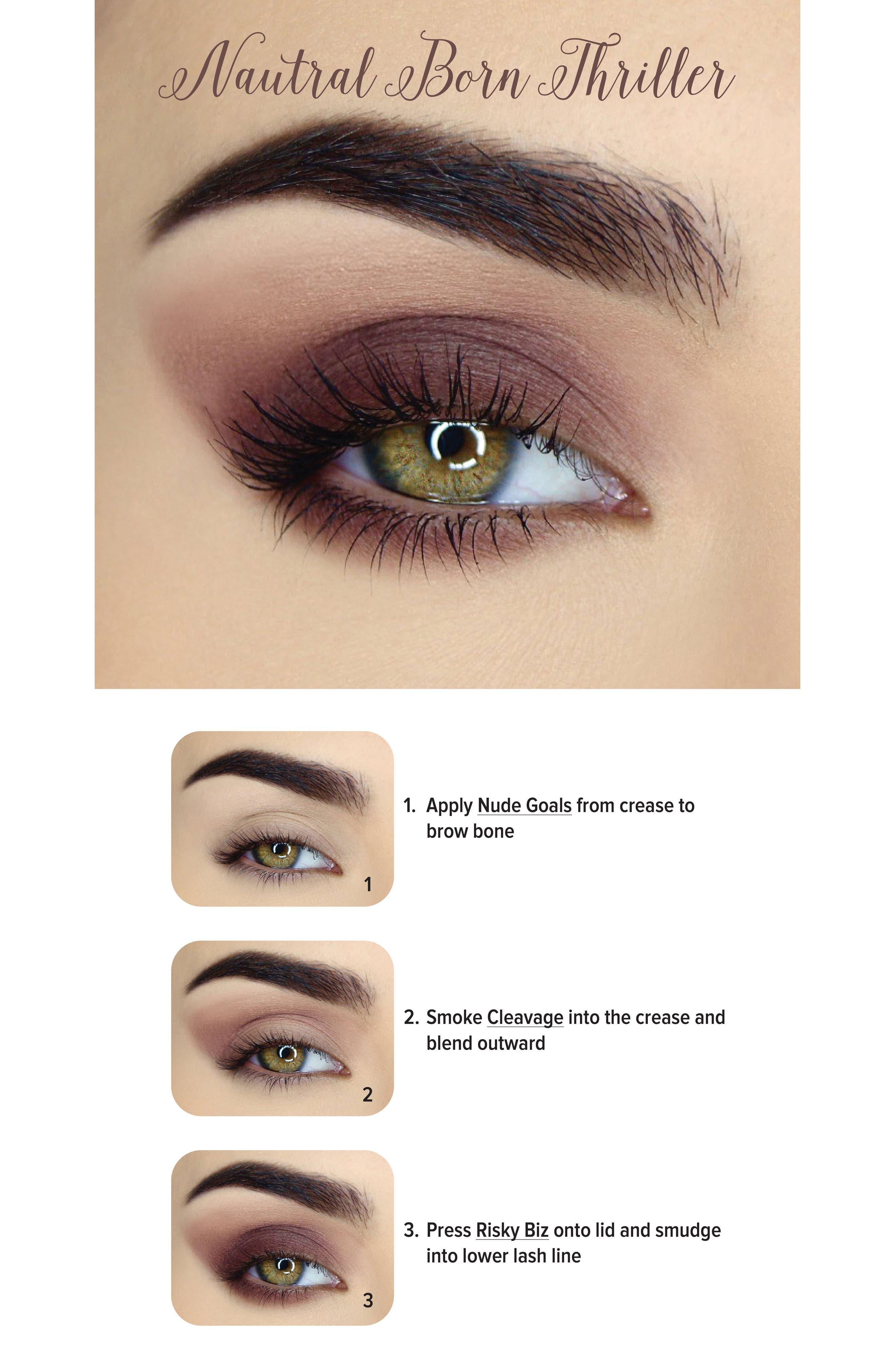 Natural Matte Eyeshadow Palette,                             Alternate thumbnail 5, color,                             No Color