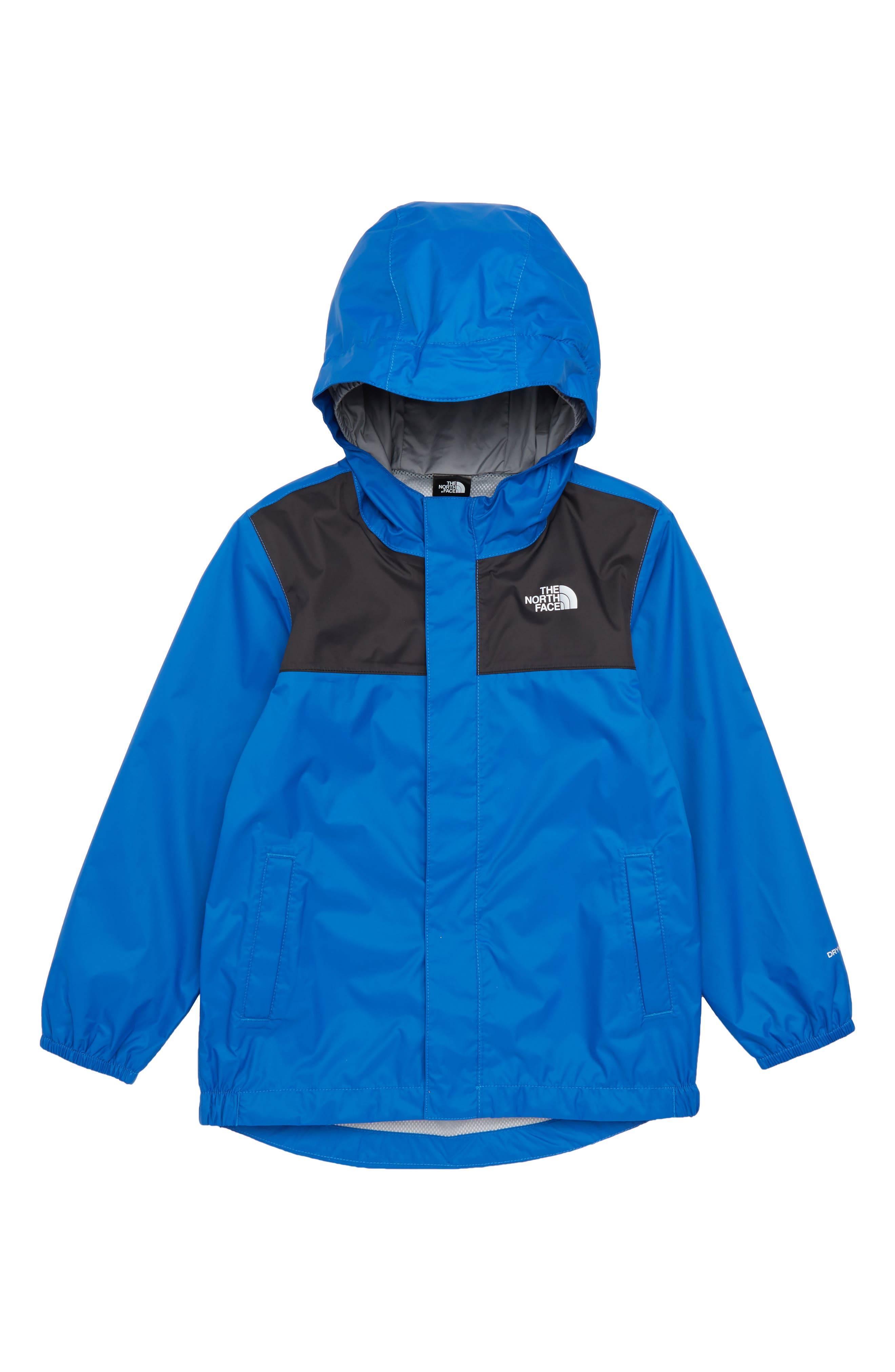 Tailout Hooded Rain Jacket,                         Main,                         color, Turkish Sea