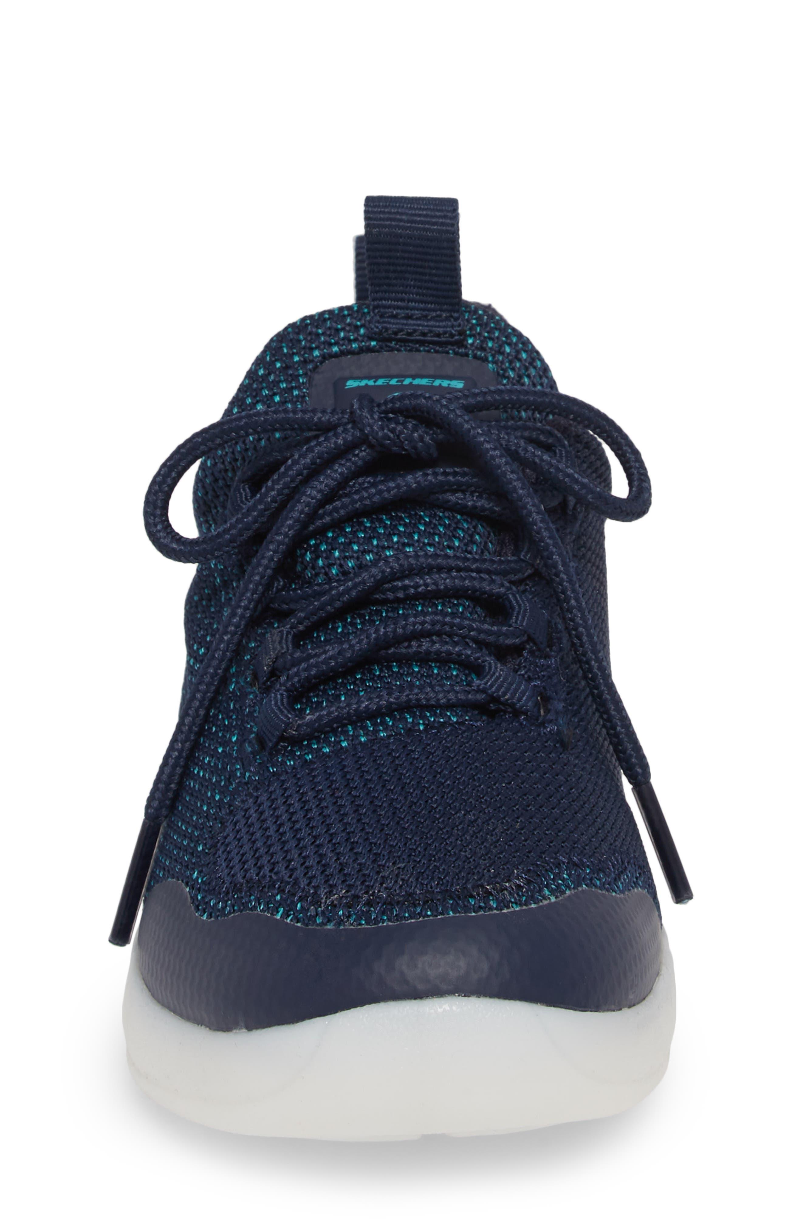 Energy Lights Street Sneaker,                             Alternate thumbnail 5, color,                             Navy