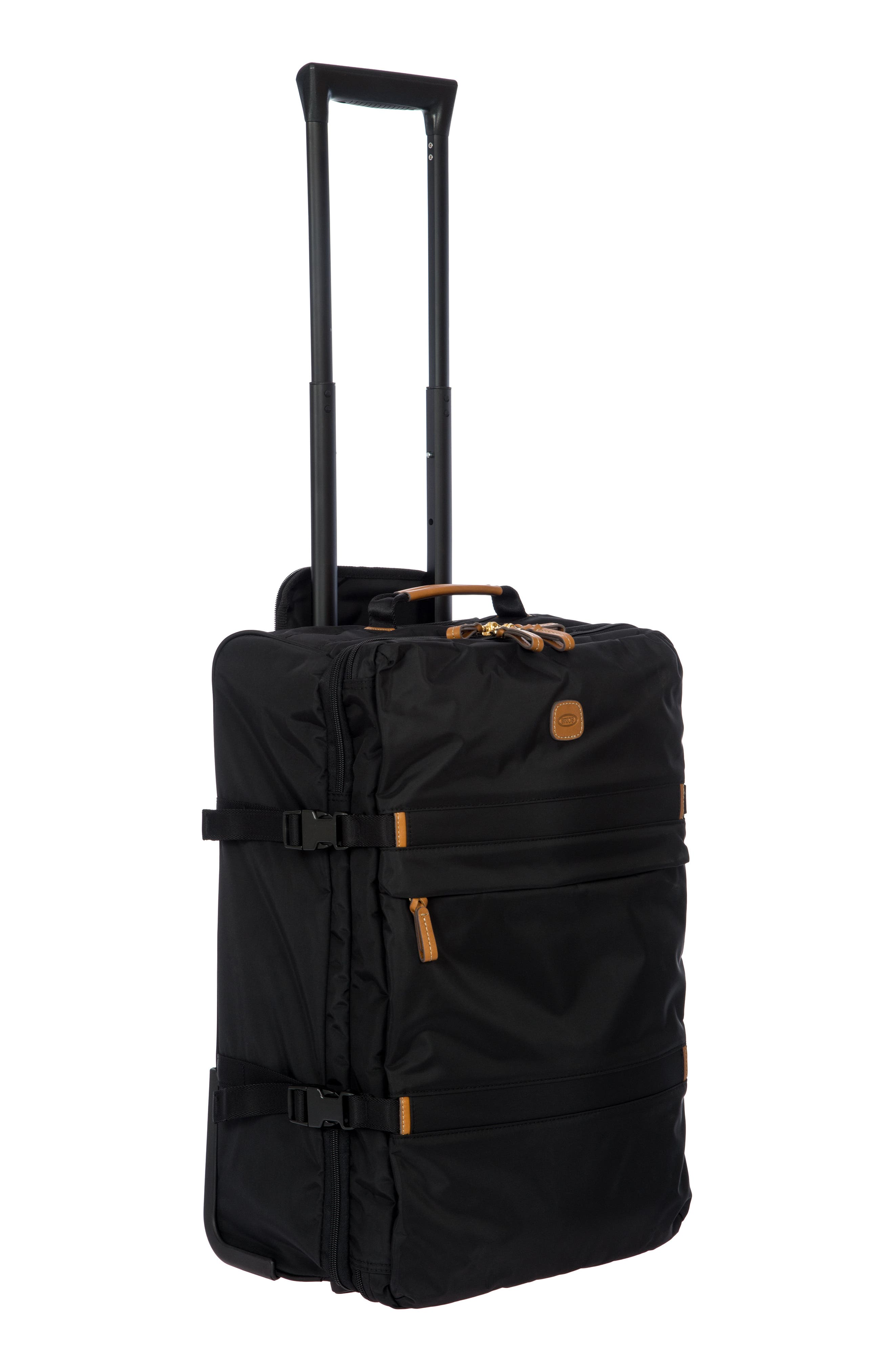 """BRIC'S X-TRAVEL 21"""" MONTAGNA CARRY-ON TROLLEY LUGGAGE, BLACK"""