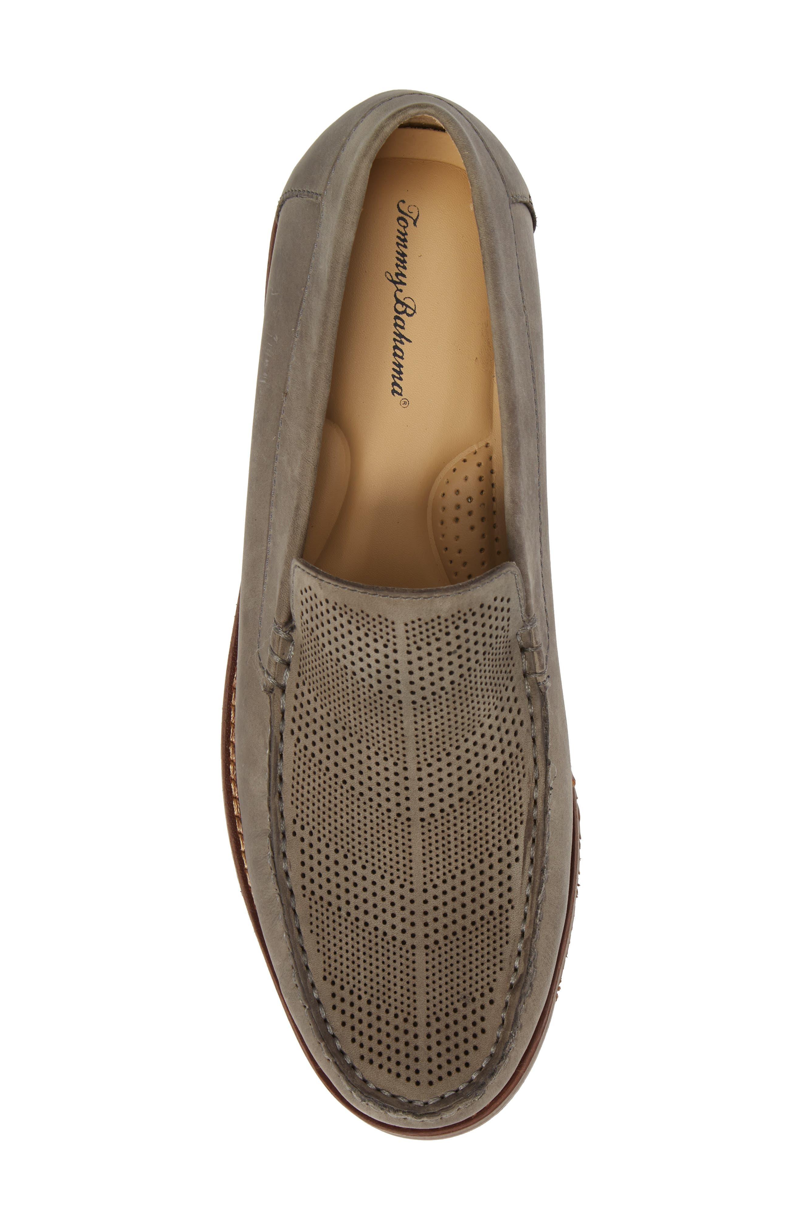 Felton II Venetian Loafer,                             Alternate thumbnail 3, color,                             Grey Nubuck