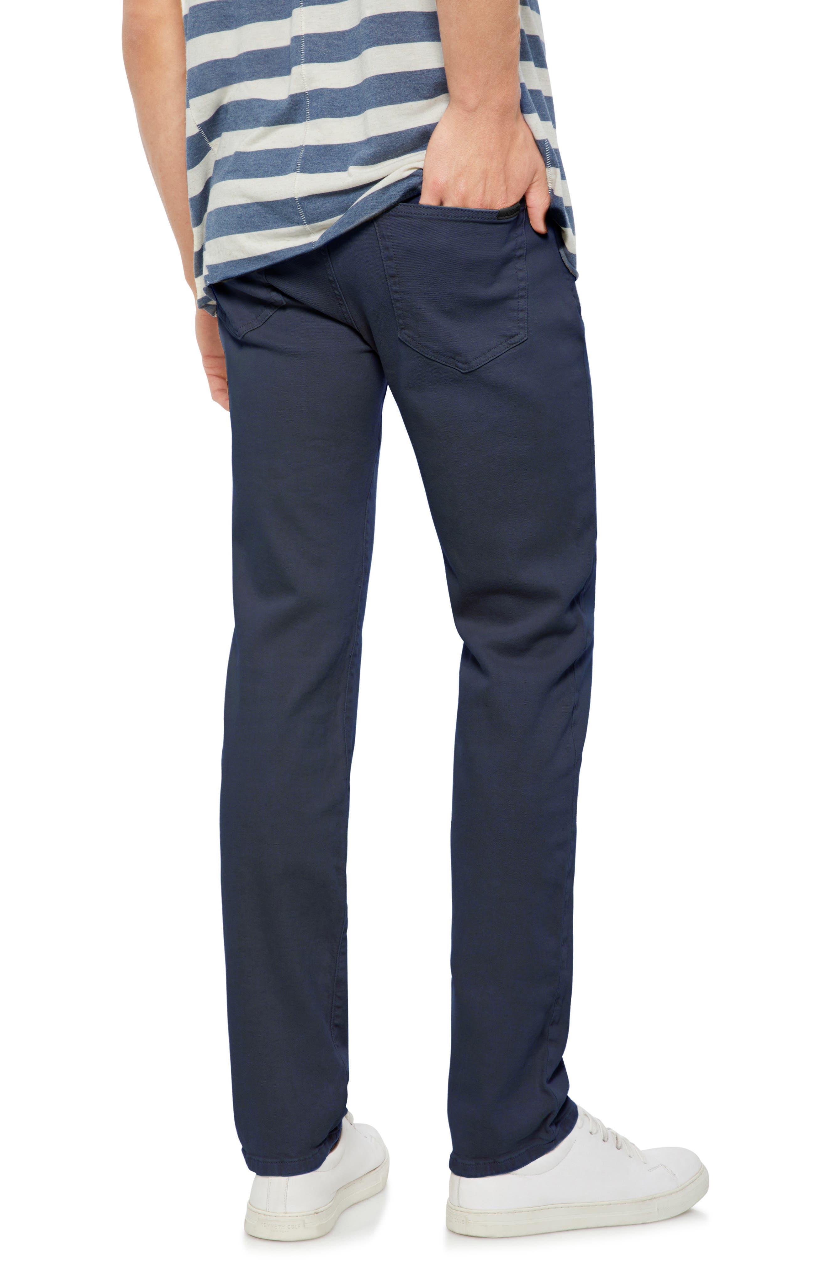 Brixton Slim Straight Leg Jeans,                             Alternate thumbnail 2, color,                             Navy