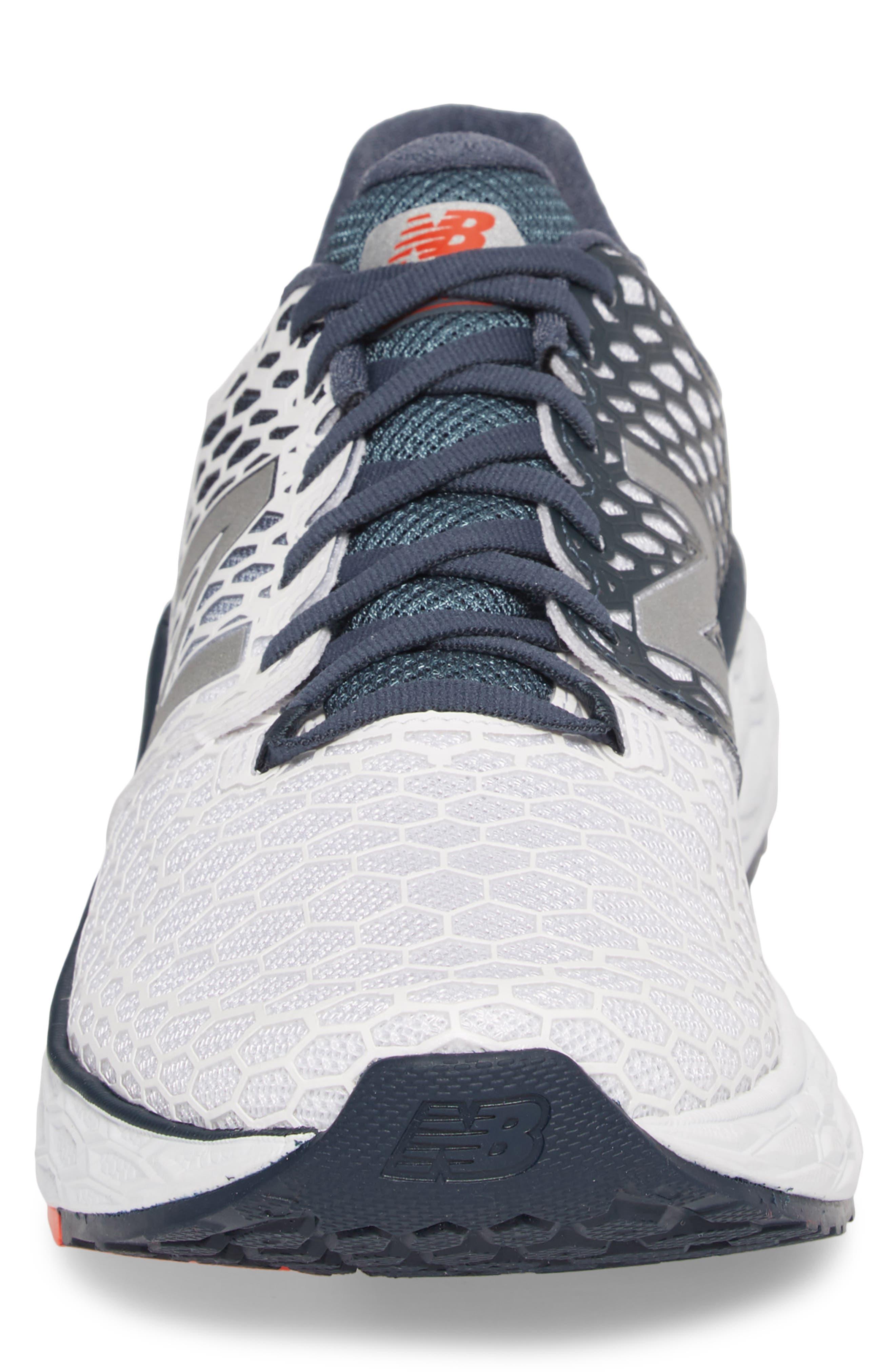 Fresh Foam Vongo v3 Running Shoe,                             Alternate thumbnail 6, color,                             White