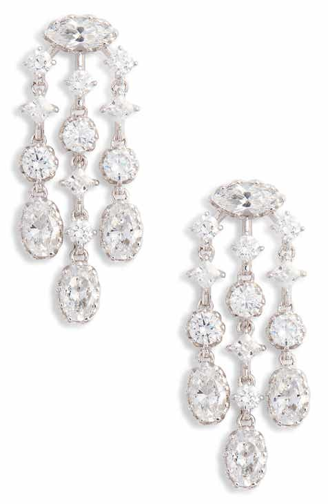 Nadri Georgian Chandelier Earrings